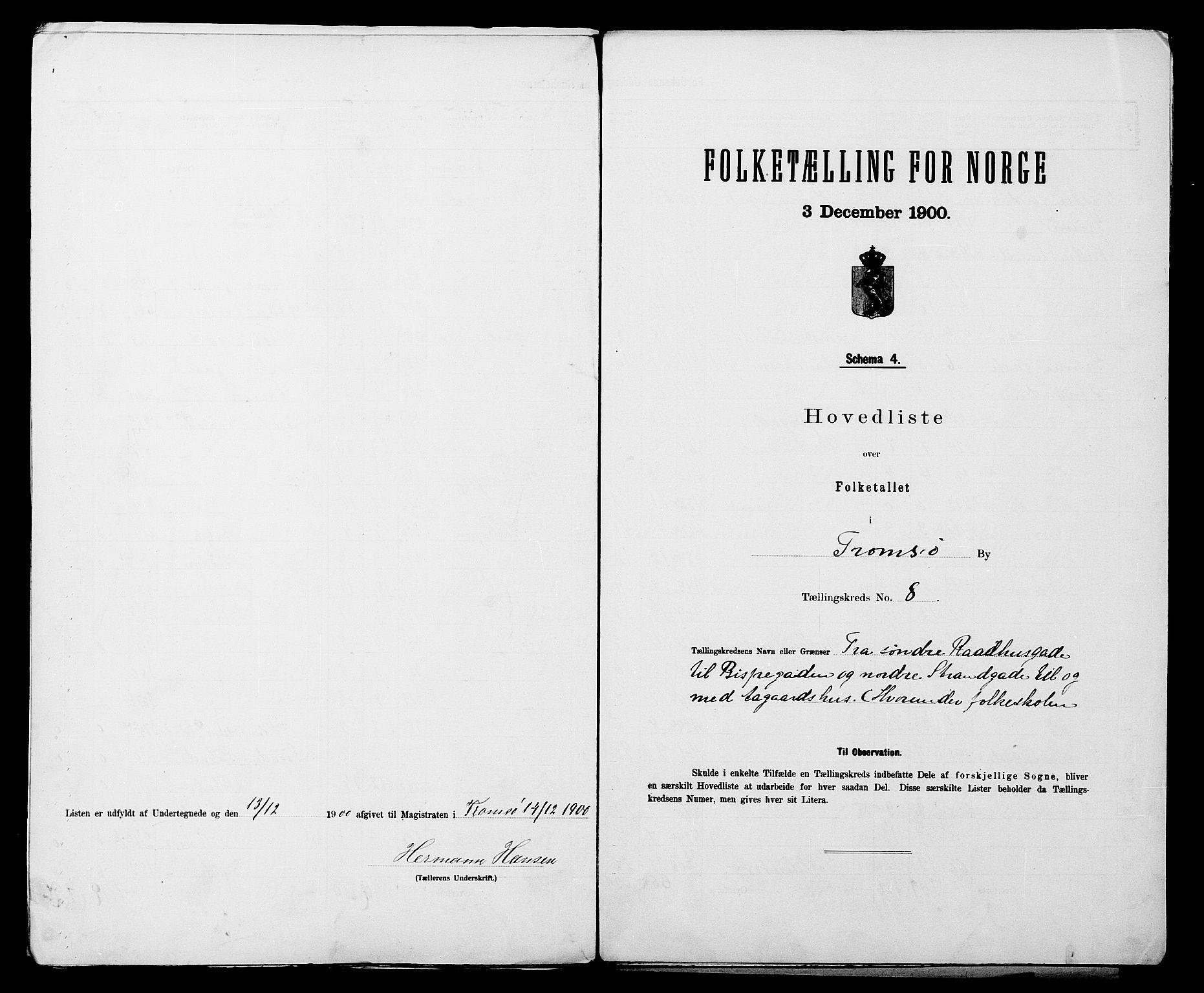 SATØ, Folketelling 1900 for 1902 Tromsø kjøpstad, 1900, s. 18