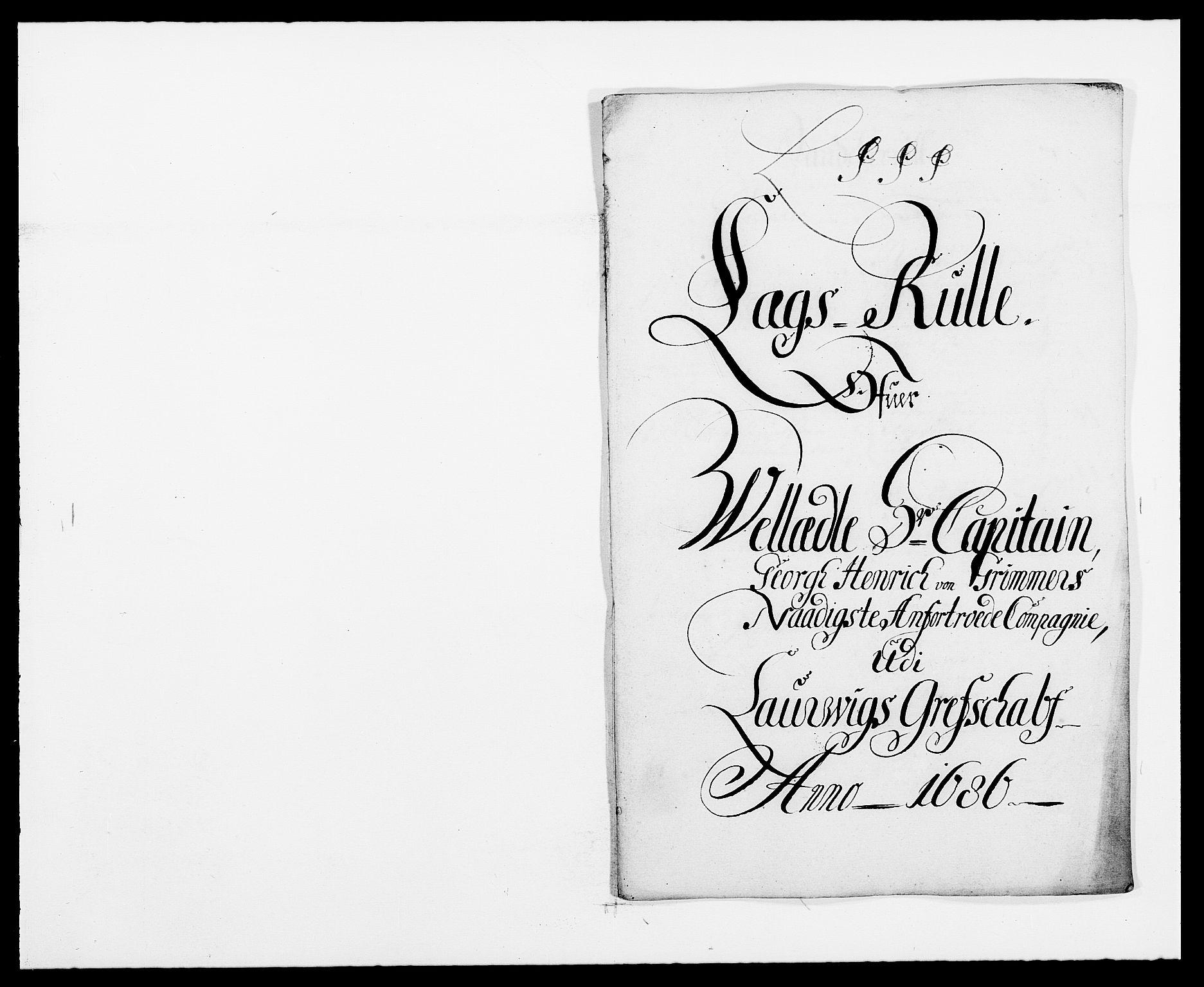 RA, Rentekammeret inntil 1814, Reviderte regnskaper, Fogderegnskap, R33/L1970: Fogderegnskap Larvik grevskap, 1675-1687, s. 220