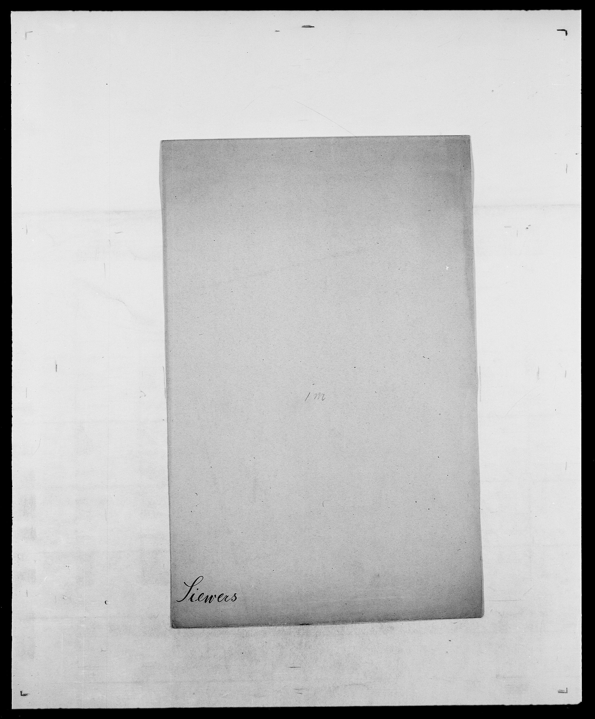 SAO, Delgobe, Charles Antoine - samling, D/Da/L0035: Schnabel - sjetman, s. 777