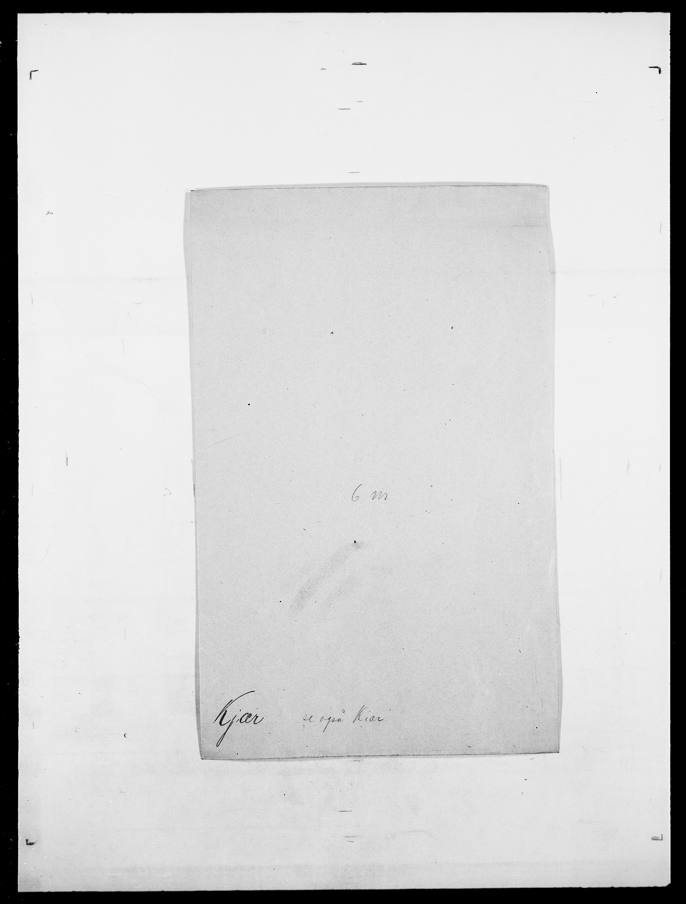 SAO, Delgobe, Charles Antoine - samling, D/Da/L0020: Irgens - Kjøsterud, s. 818