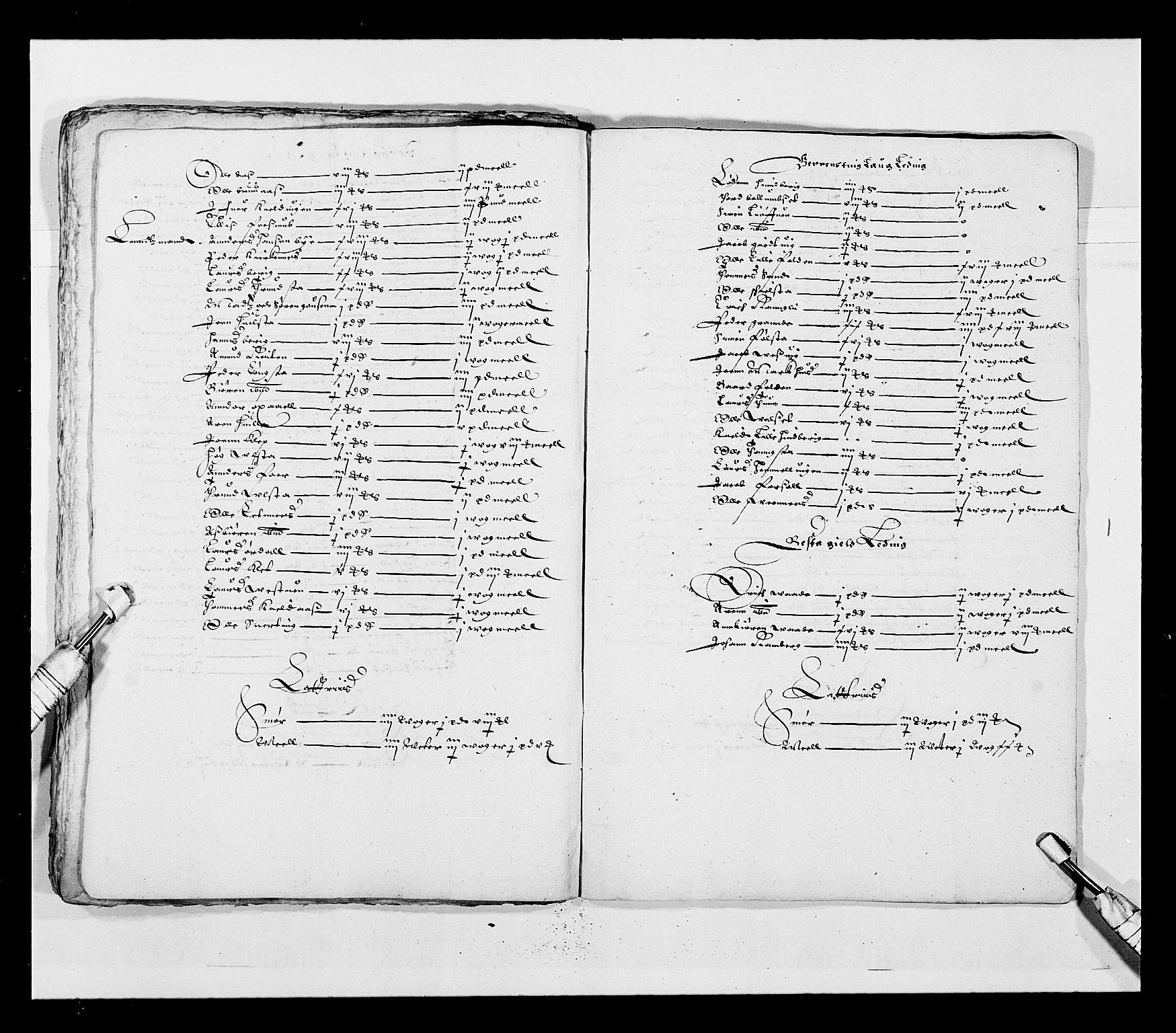 RA, Stattholderembetet 1572-1771, Ek/L0028: Jordebøker 1633-1658:, 1645-1646, s. 109