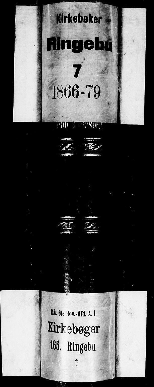 SAH, Ringebu prestekontor, Klokkerbok nr. 4, 1867-1879
