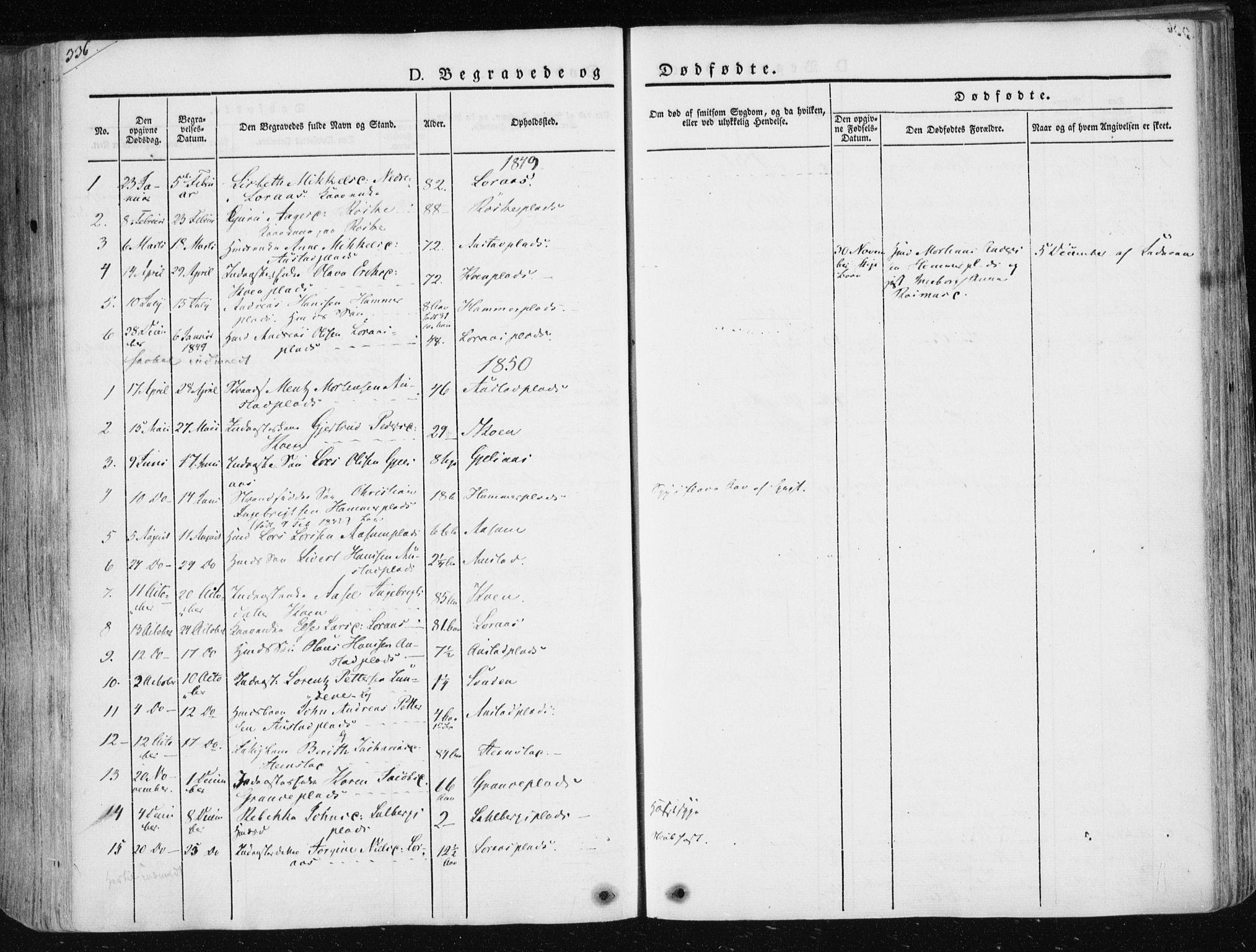 SAT, Ministerialprotokoller, klokkerbøker og fødselsregistre - Nord-Trøndelag, 730/L0280: Ministerialbok nr. 730A07 /2, 1840-1854, s. 326