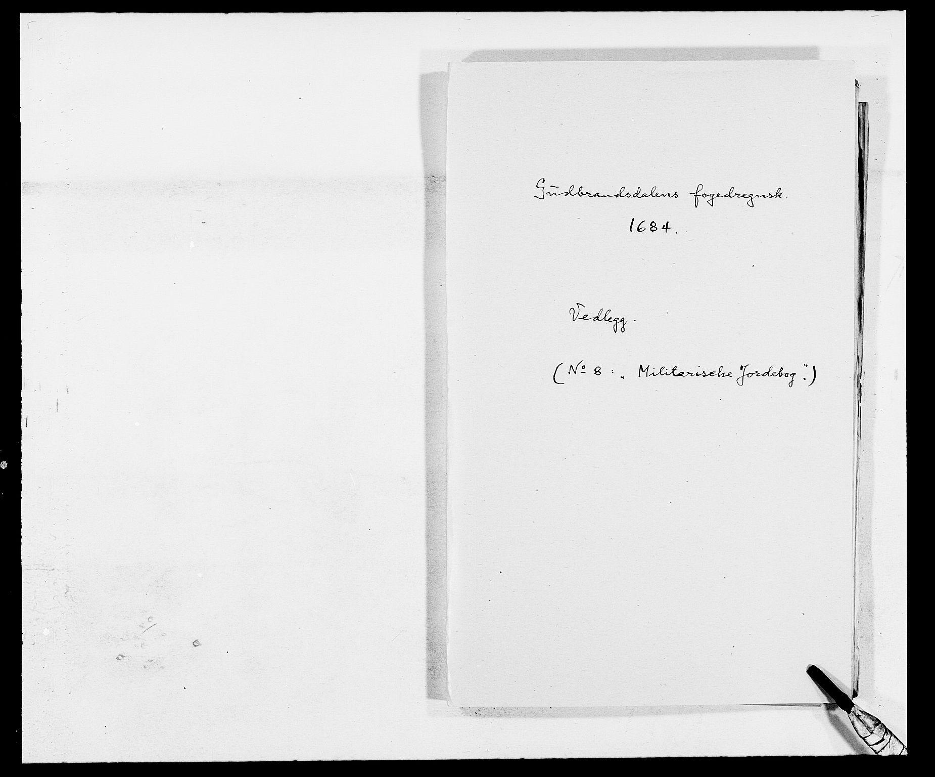 RA, Rentekammeret inntil 1814, Reviderte regnskaper, Fogderegnskap, R17/L1159: Fogderegnskap Gudbrandsdal, 1682-1689, s. 310