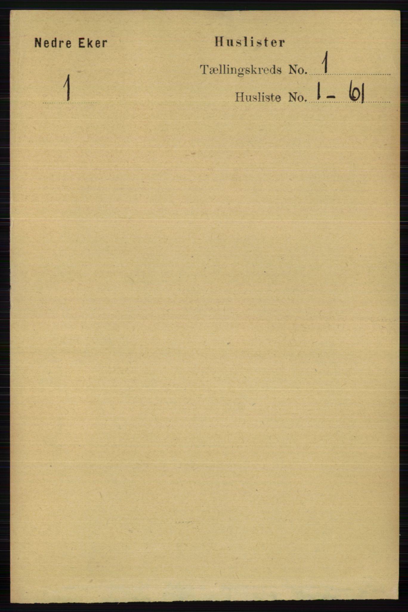 RA, Folketelling 1891 for 0625 Nedre Eiker herred, 1891, s. 24