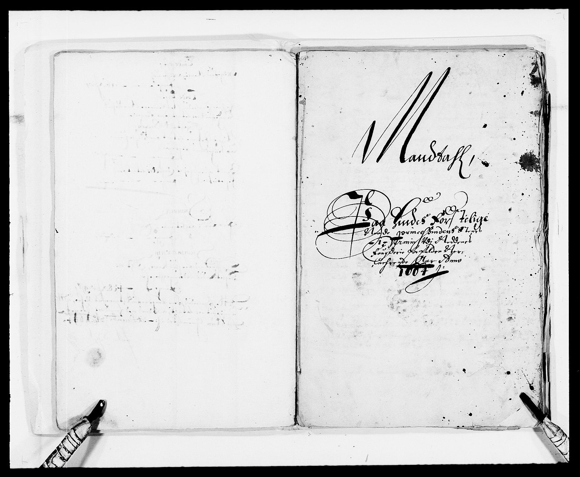 RA, Rentekammeret inntil 1814, Reviderte regnskaper, Fogderegnskap, R39/L2296: Fogderegnskap Nedenes, 1664-1666, s. 272