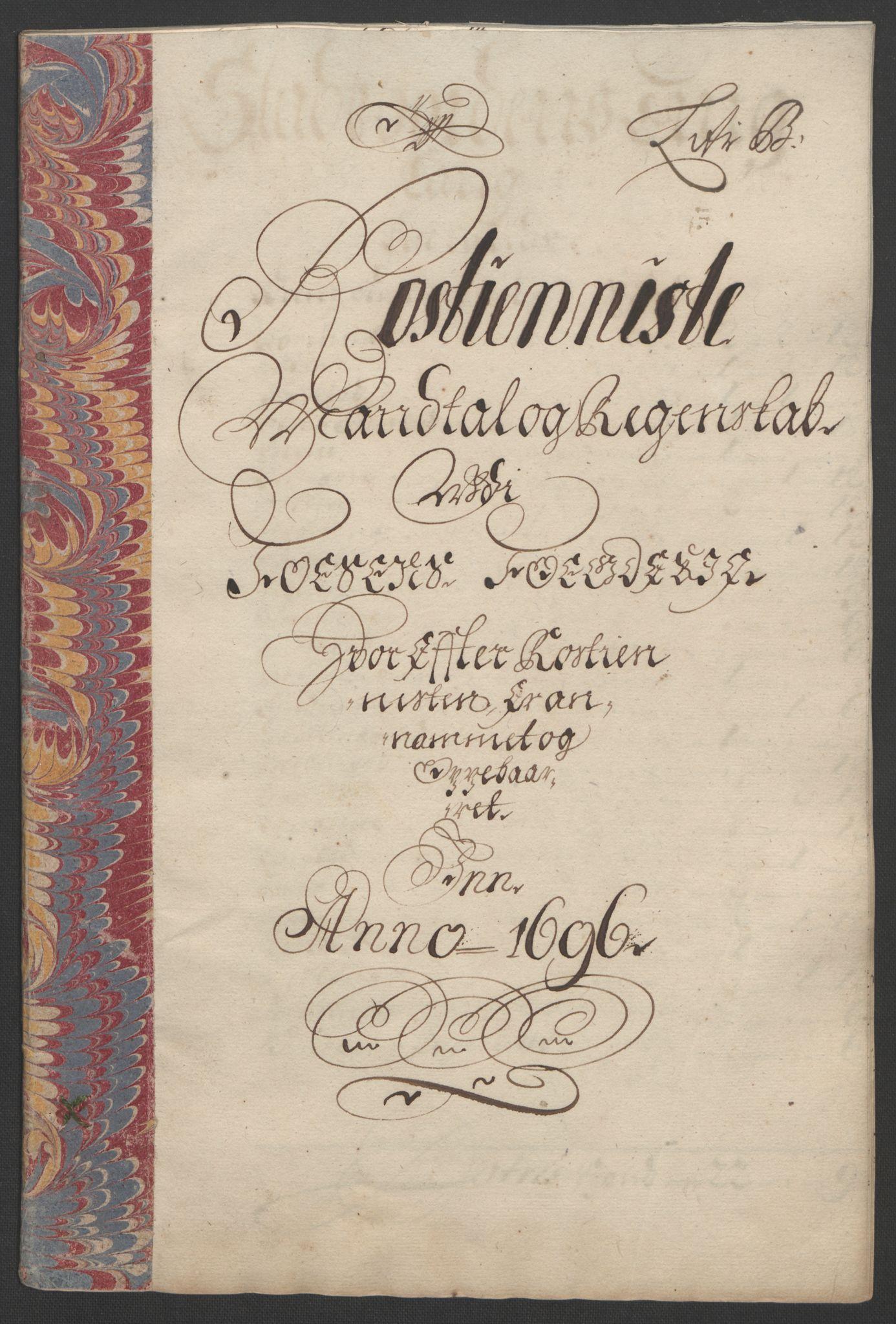 RA, Rentekammeret inntil 1814, Reviderte regnskaper, Fogderegnskap, R57/L3851: Fogderegnskap Fosen, 1695-1696, s. 224