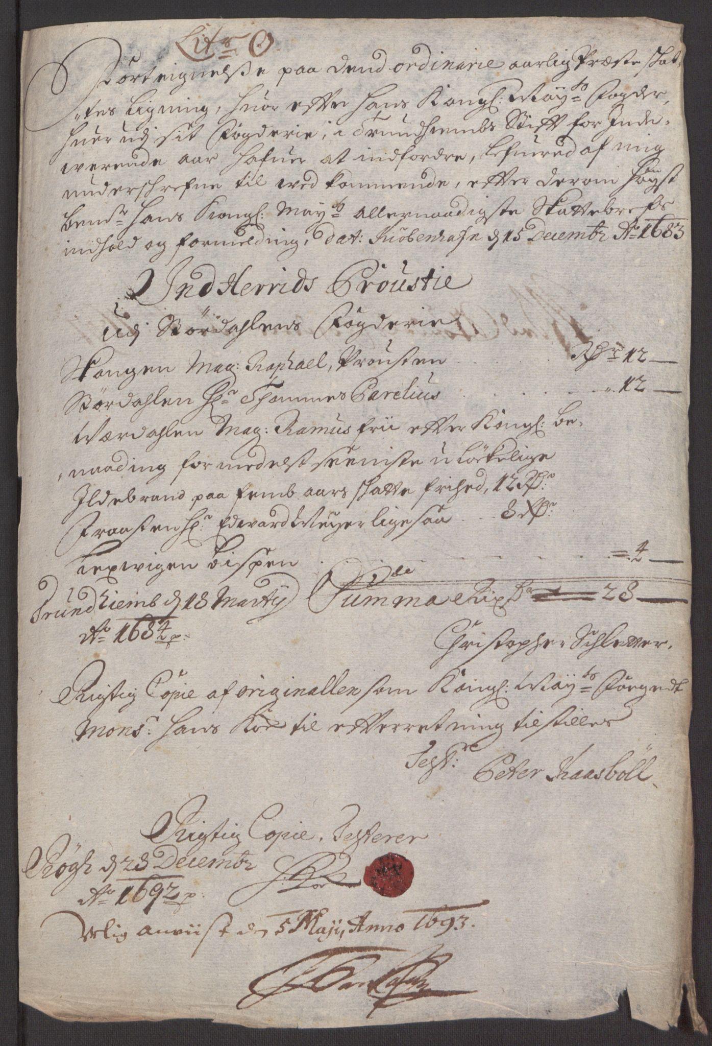 RA, Rentekammeret inntil 1814, Reviderte regnskaper, Fogderegnskap, R62/L4185: Fogderegnskap Stjørdal og Verdal, 1692, s. 212