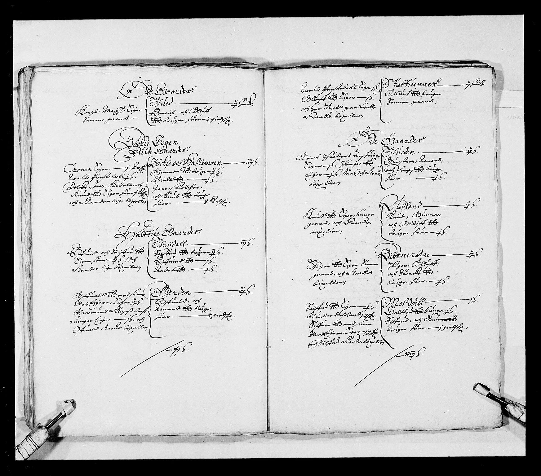 RA, Stattholderembetet 1572-1771, Ek/L0023: Jordebøker 1633-1658:, 1648-1649, s. 24