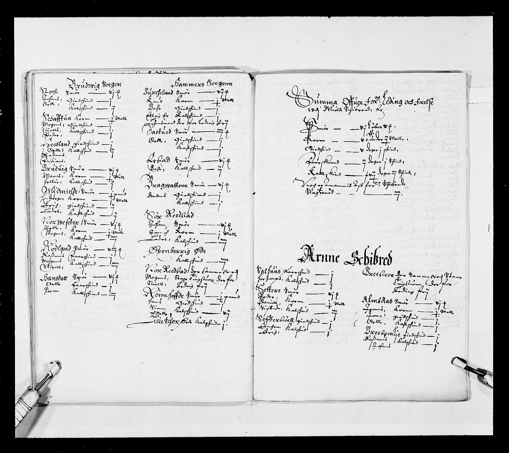 RA, Stattholderembetet 1572-1771, Ek/L0025: Jordebøker 1633-1658:, 1645-1646, s. 104