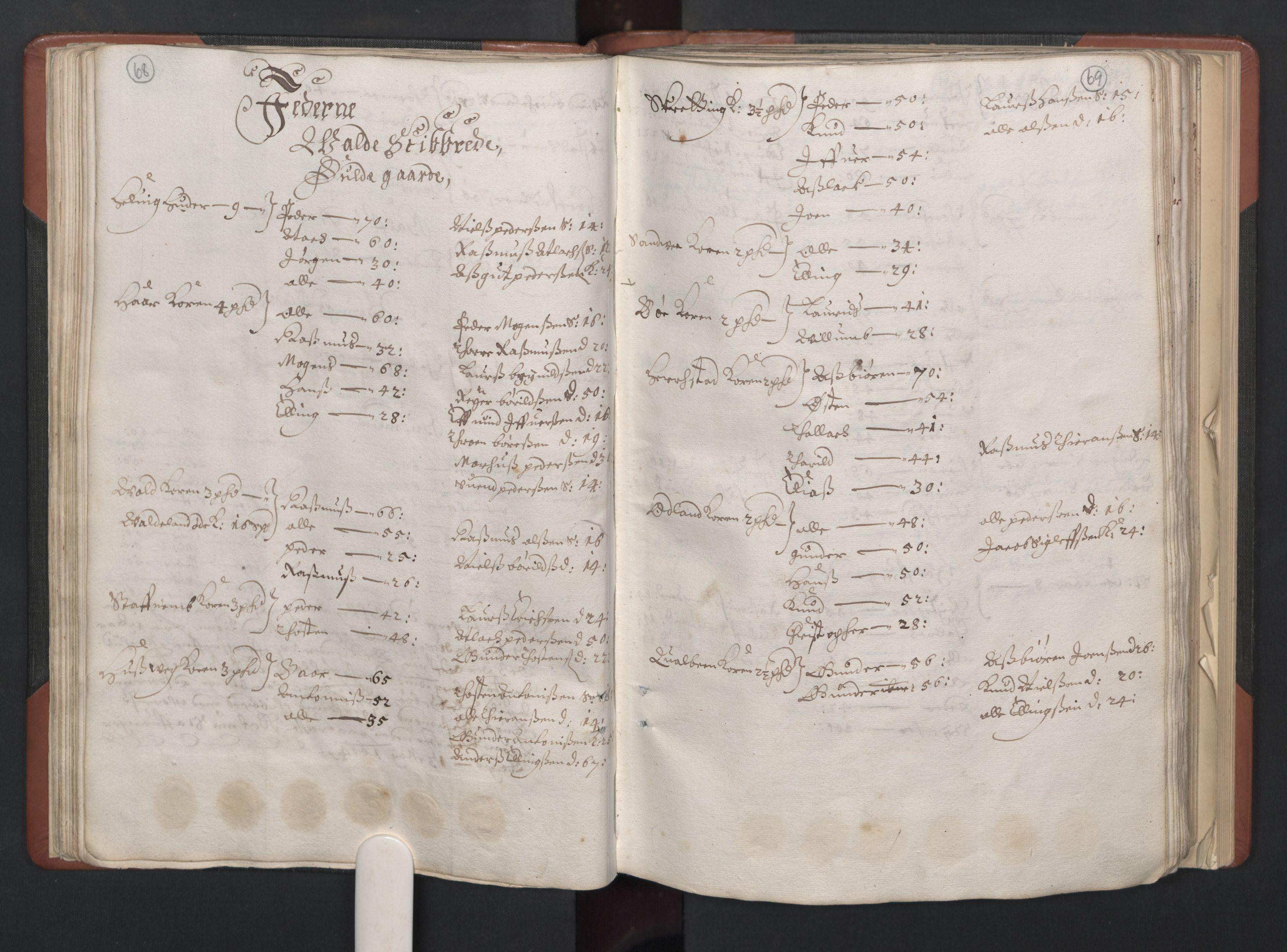RA, Fogdenes og sorenskrivernes manntall 1664-1666, nr. 11: Jæren og Dalane fogderi, 1664, s. 68-69