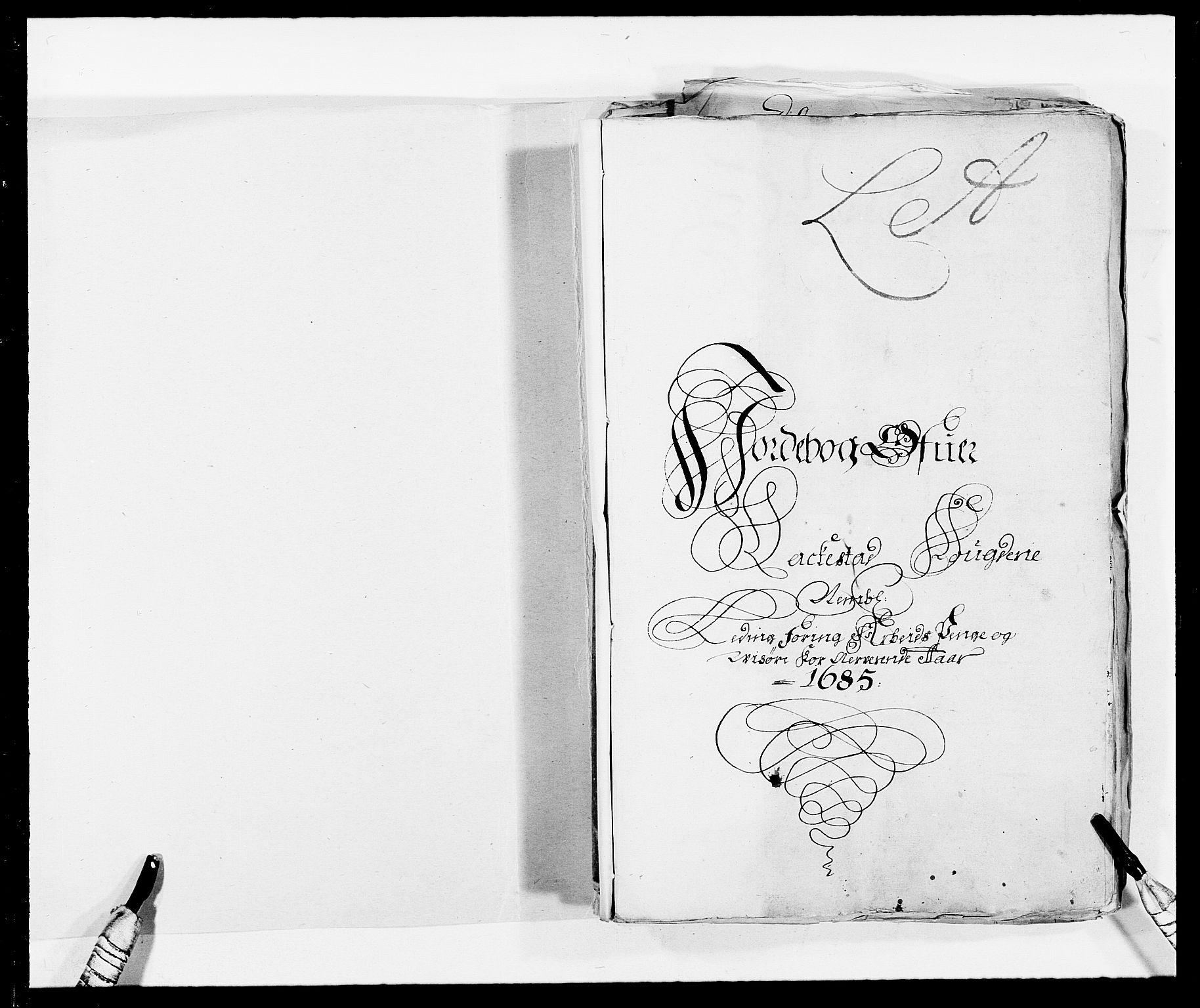 RA, Rentekammeret inntil 1814, Reviderte regnskaper, Fogderegnskap, R05/L0275: Fogderegnskap Rakkestad, 1685-1686, s. 2