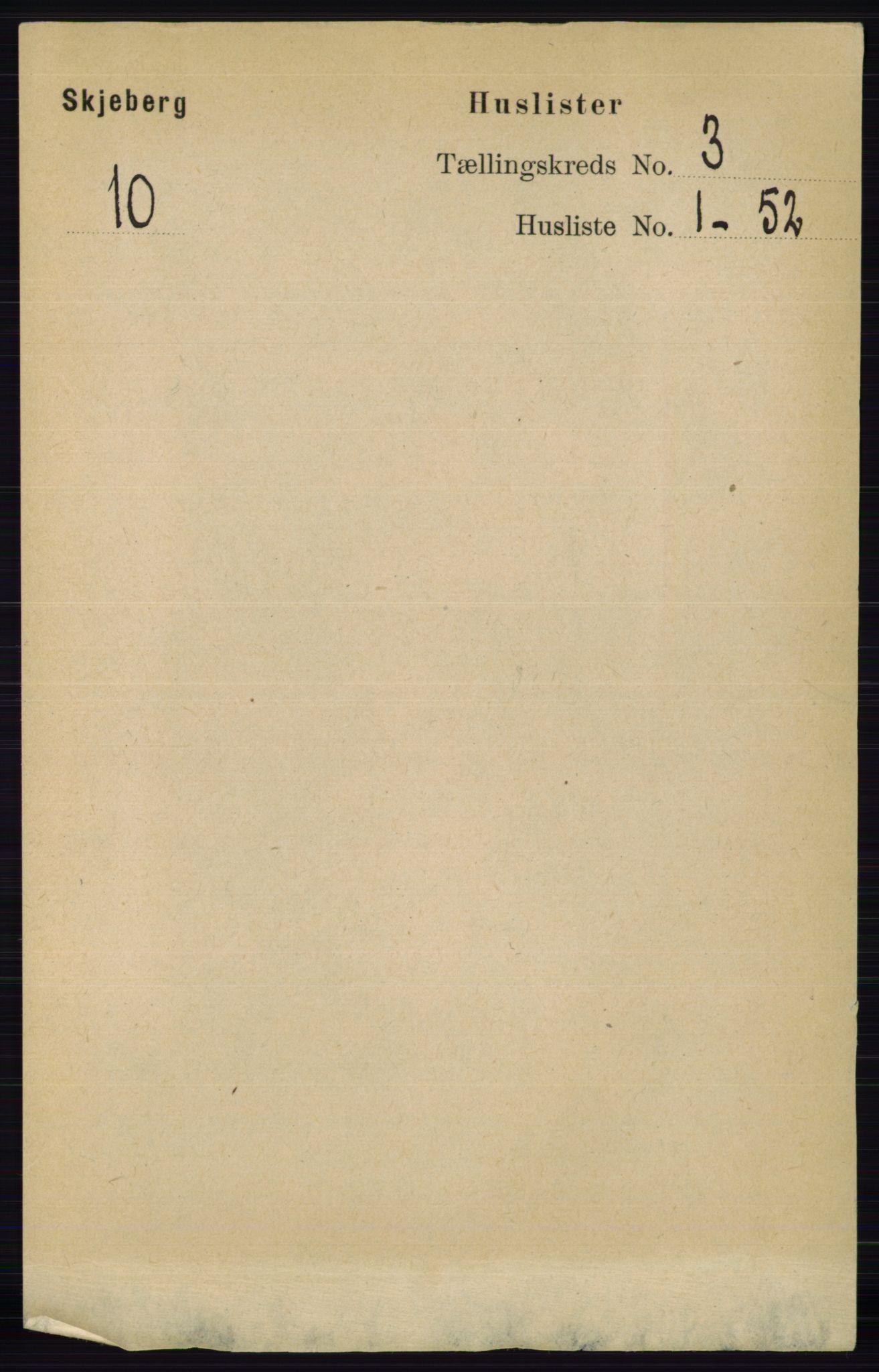 RA, Folketelling 1891 for 0115 Skjeberg herred, 1891, s. 1433