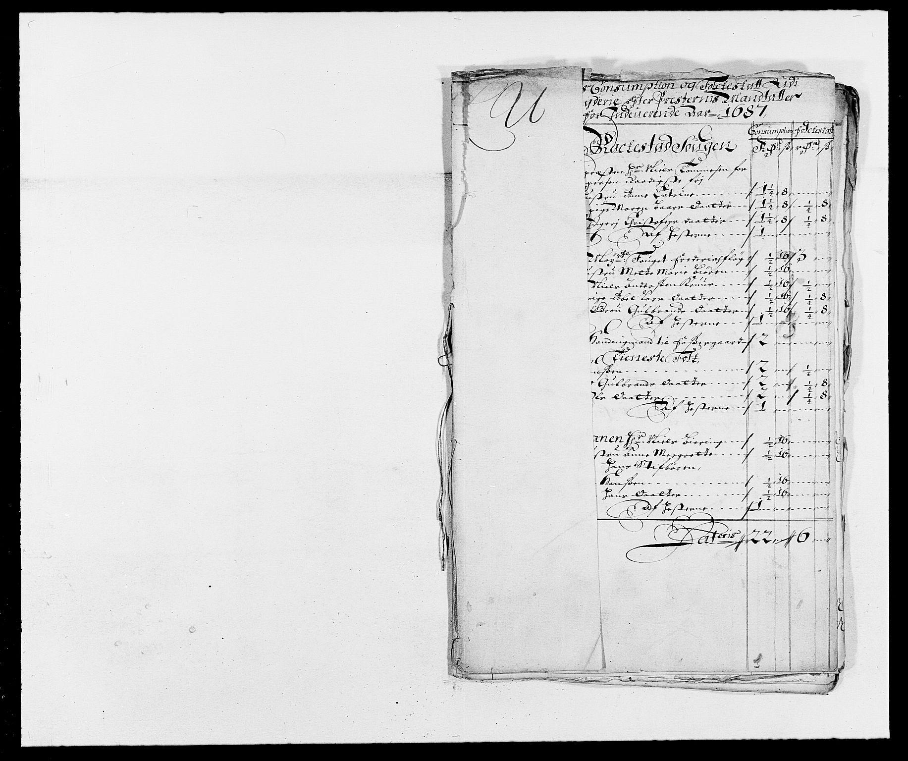 RA, Rentekammeret inntil 1814, Reviderte regnskaper, Fogderegnskap, R05/L0276: Fogderegnskap Rakkestad, 1683-1688, s. 90