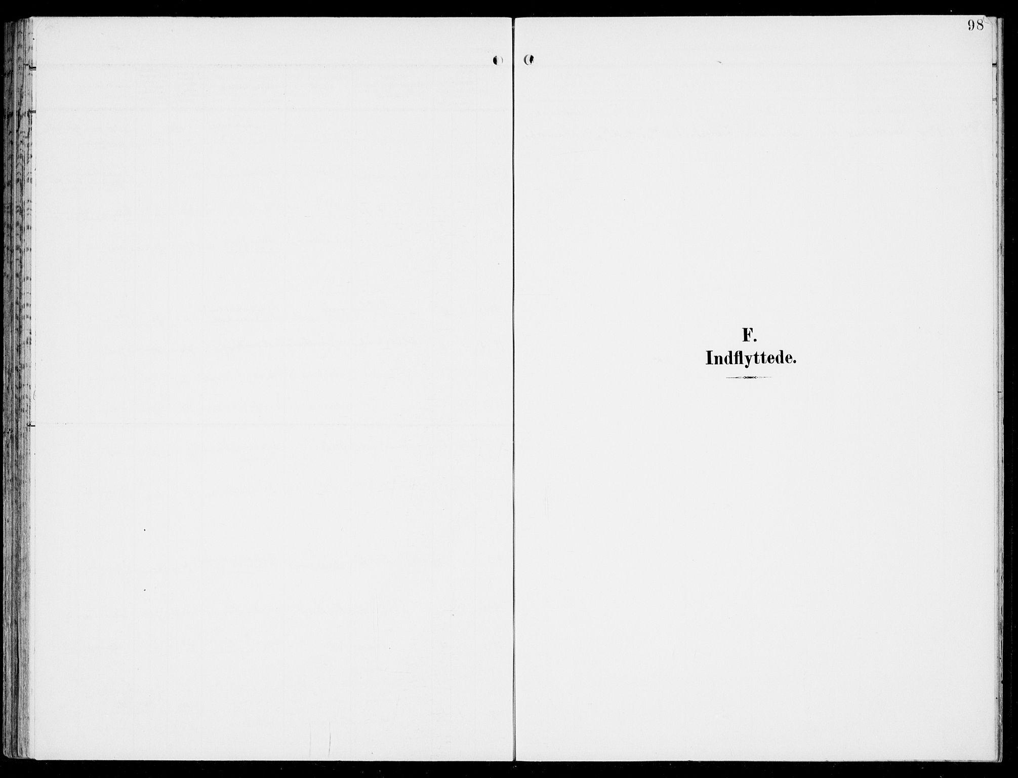 SAB, Hosanger Sokneprestembete, H/Haa: Ministerialbok nr. C  2, 1901-1925, s. 98