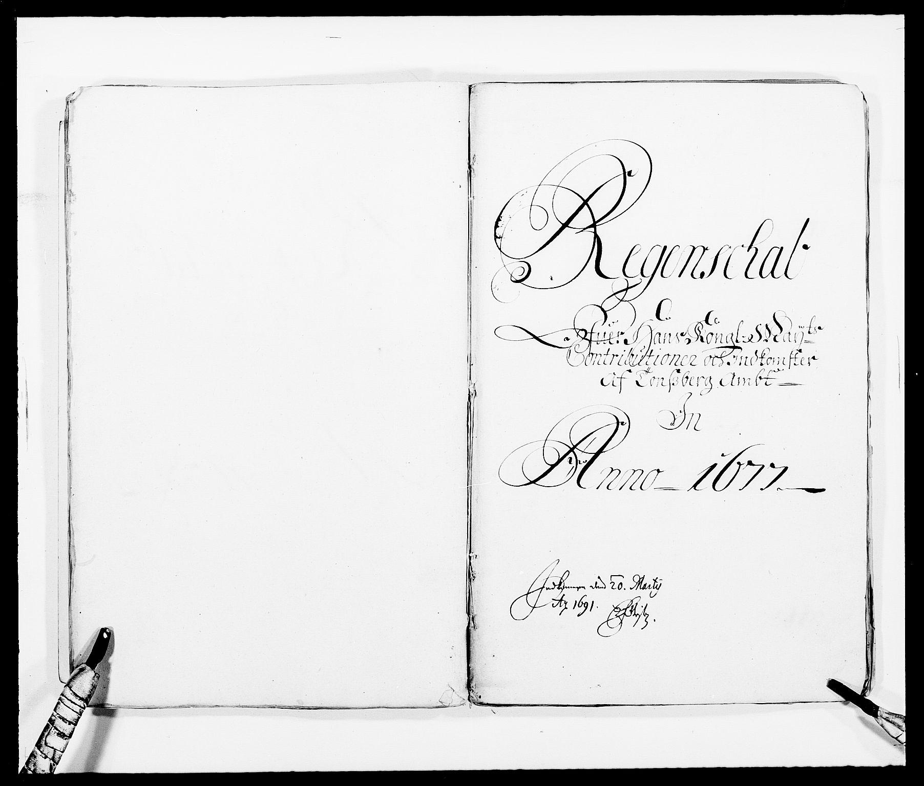 RA, Rentekammeret inntil 1814, Reviderte regnskaper, Fogderegnskap, R32/L1845: Fogderegnskap Jarlsberg grevskap, 1676-1678, s. 18