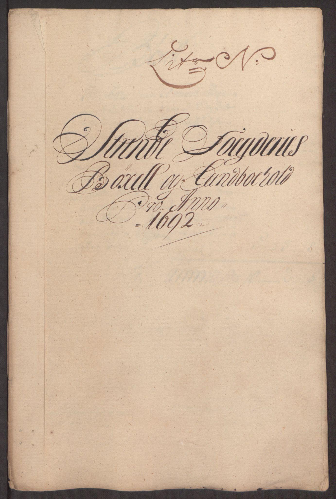 RA, Rentekammeret inntil 1814, Reviderte regnskaper, Fogderegnskap, R61/L4103: Fogderegnskap Strinda og Selbu, 1691-1692, s. 361