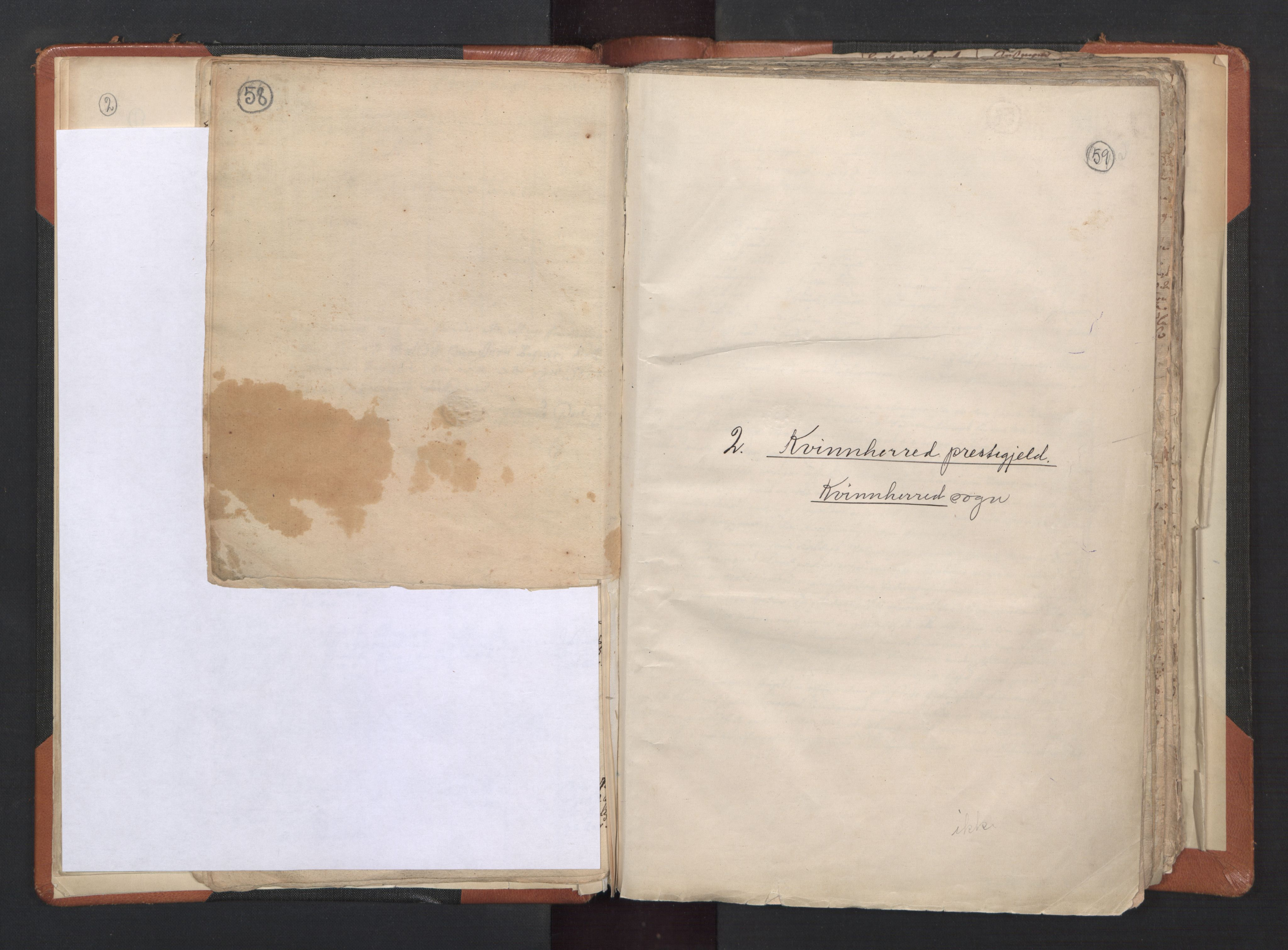 RA, Sogneprestenes manntall 1664-1666, nr. 20: Sunnhordland prosti, 1664-1666, s. 58-59