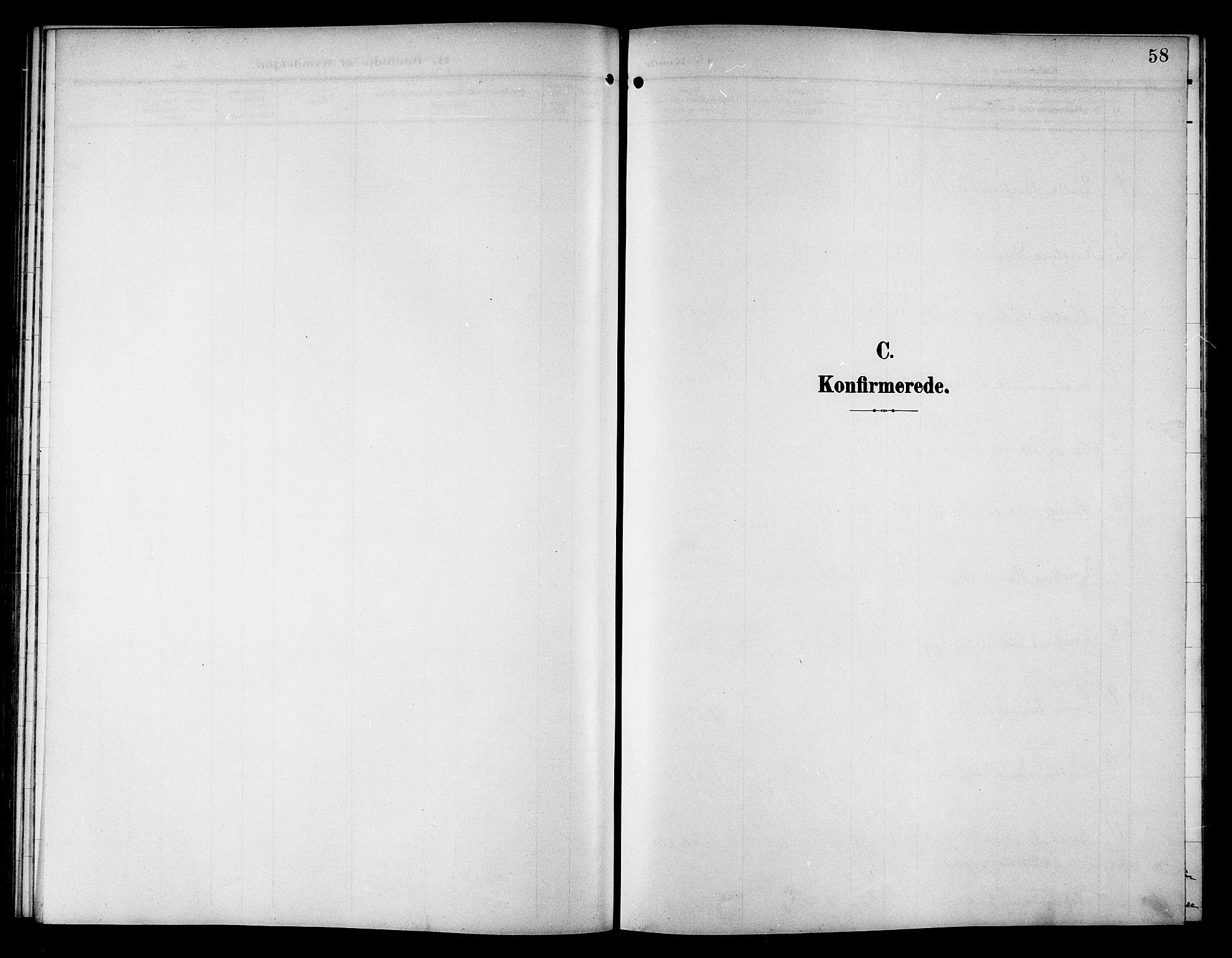 SAT, Ministerialprotokoller, klokkerbøker og fødselsregistre - Nord-Trøndelag, 757/L0506: Klokkerbok nr. 757C01, 1904-1922, s. 58