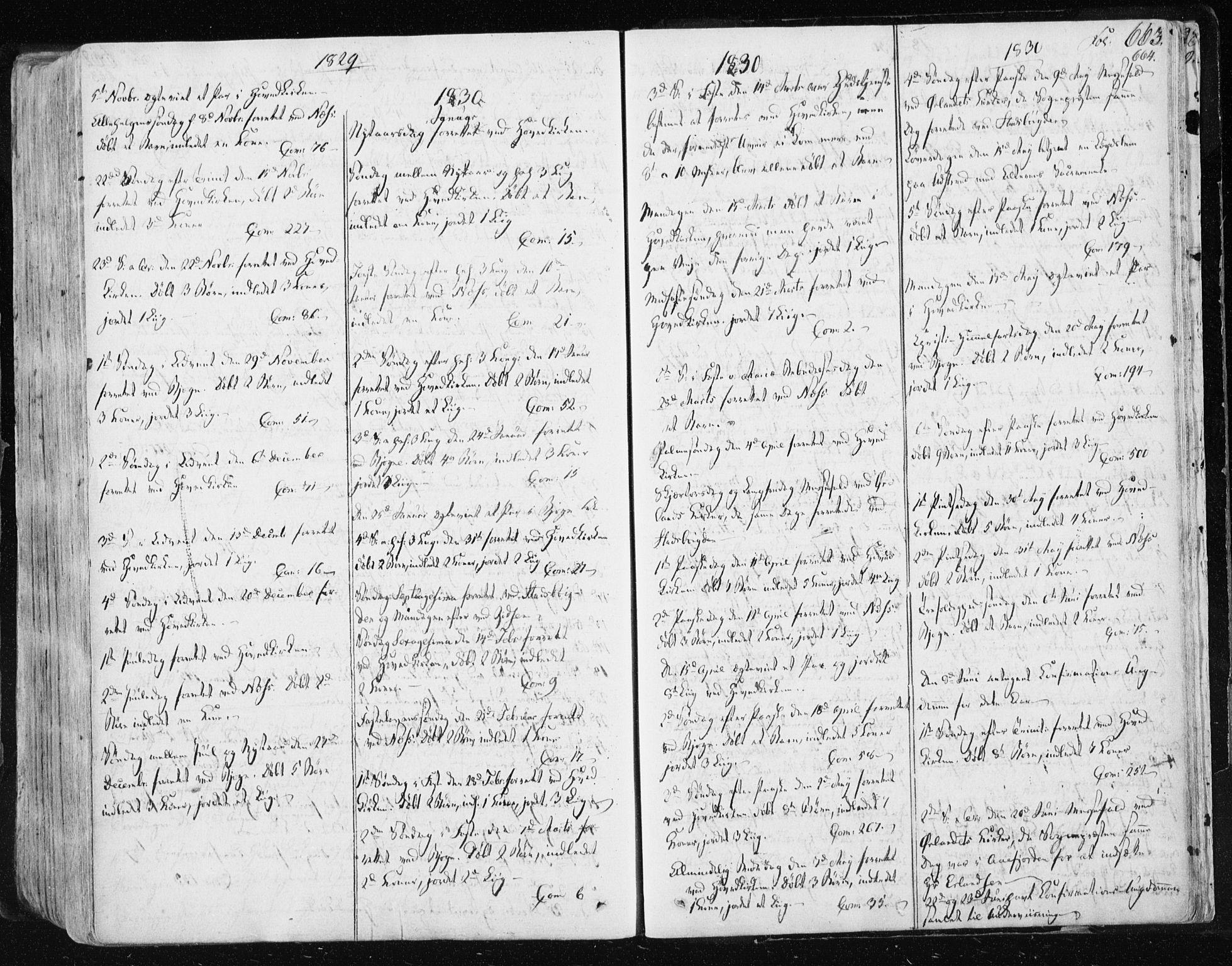 SAT, Ministerialprotokoller, klokkerbøker og fødselsregistre - Sør-Trøndelag, 659/L0735: Ministerialbok nr. 659A05, 1826-1841, s. 663