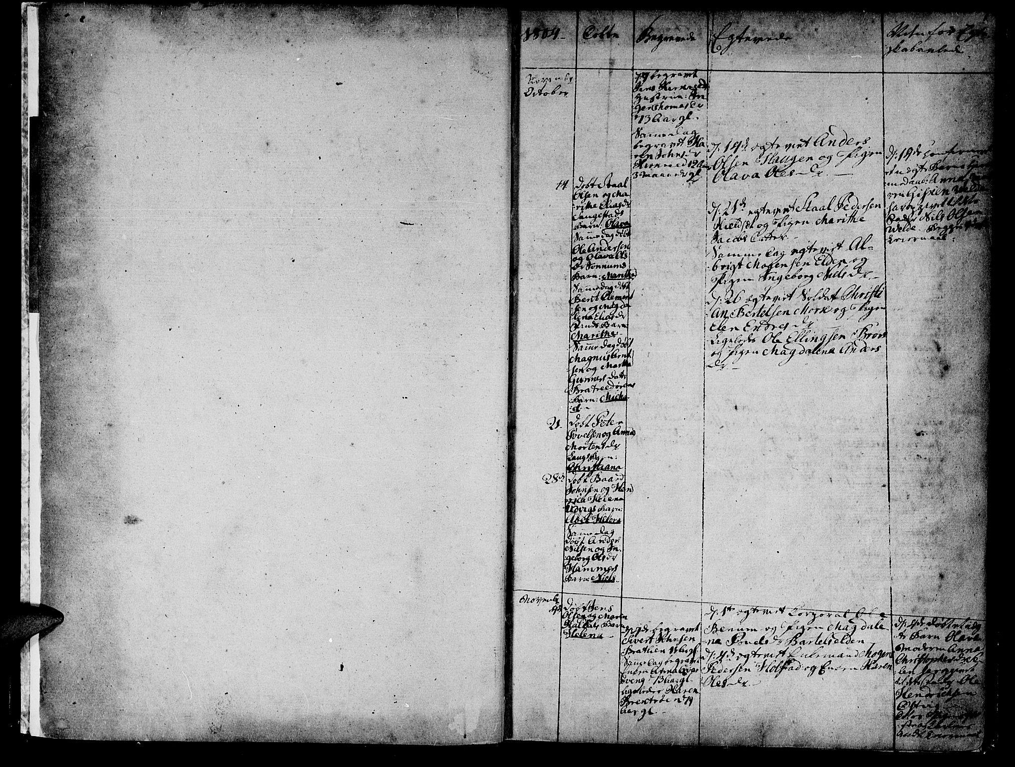 SAT, Ministerialprotokoller, klokkerbøker og fødselsregistre - Nord-Trøndelag, 741/L0386: Ministerialbok nr. 741A02, 1804-1816, s. 0-1