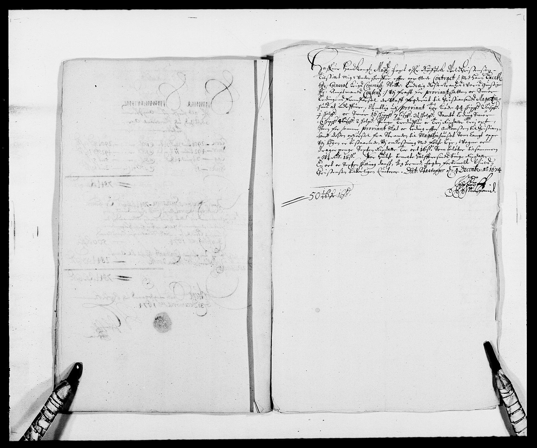 RA, Rentekammeret inntil 1814, Reviderte regnskaper, Fogderegnskap, R47/L2845: Fogderegnskap Ryfylke, 1674-1675, s. 157