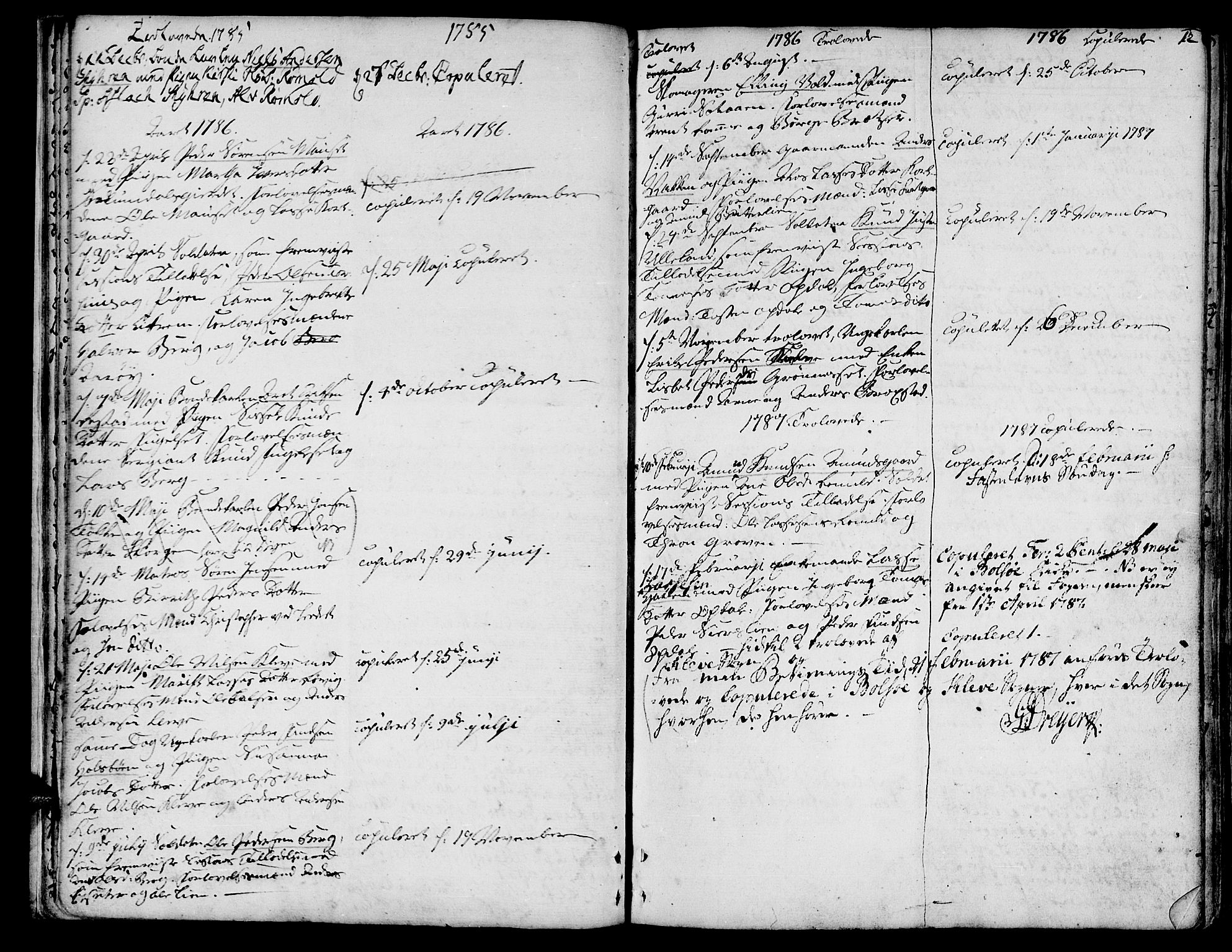 SAT, Ministerialprotokoller, klokkerbøker og fødselsregistre - Møre og Romsdal, 555/L0648: Ministerialbok nr. 555A01, 1759-1793, s. 12
