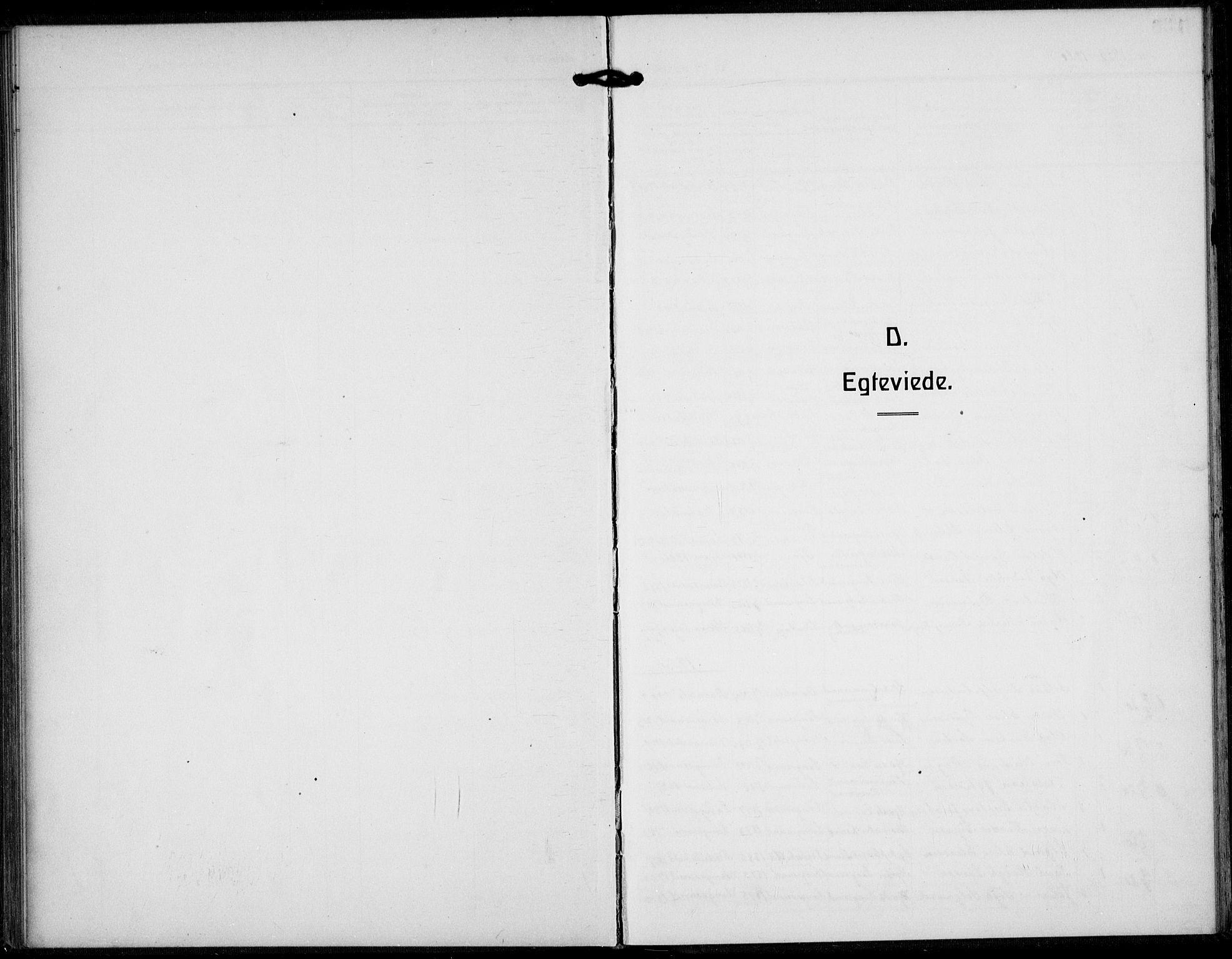 SAKO, Langesund kirkebøker, G/Ga/L0007: Klokkerbok nr. 7, 1919-1939
