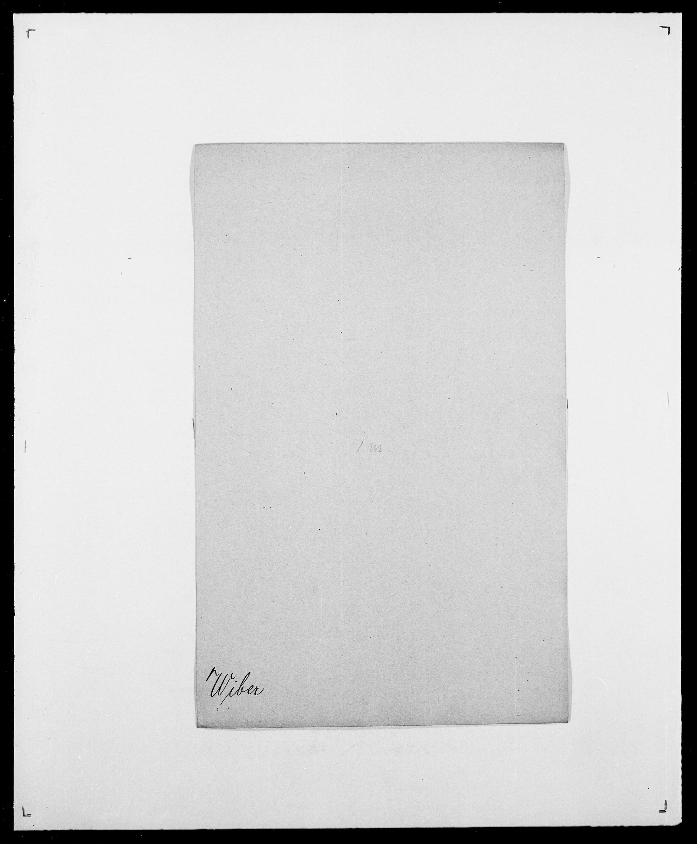 SAO, Delgobe, Charles Antoine - samling, D/Da/L0041: Vemmestad - Viker, s. 391