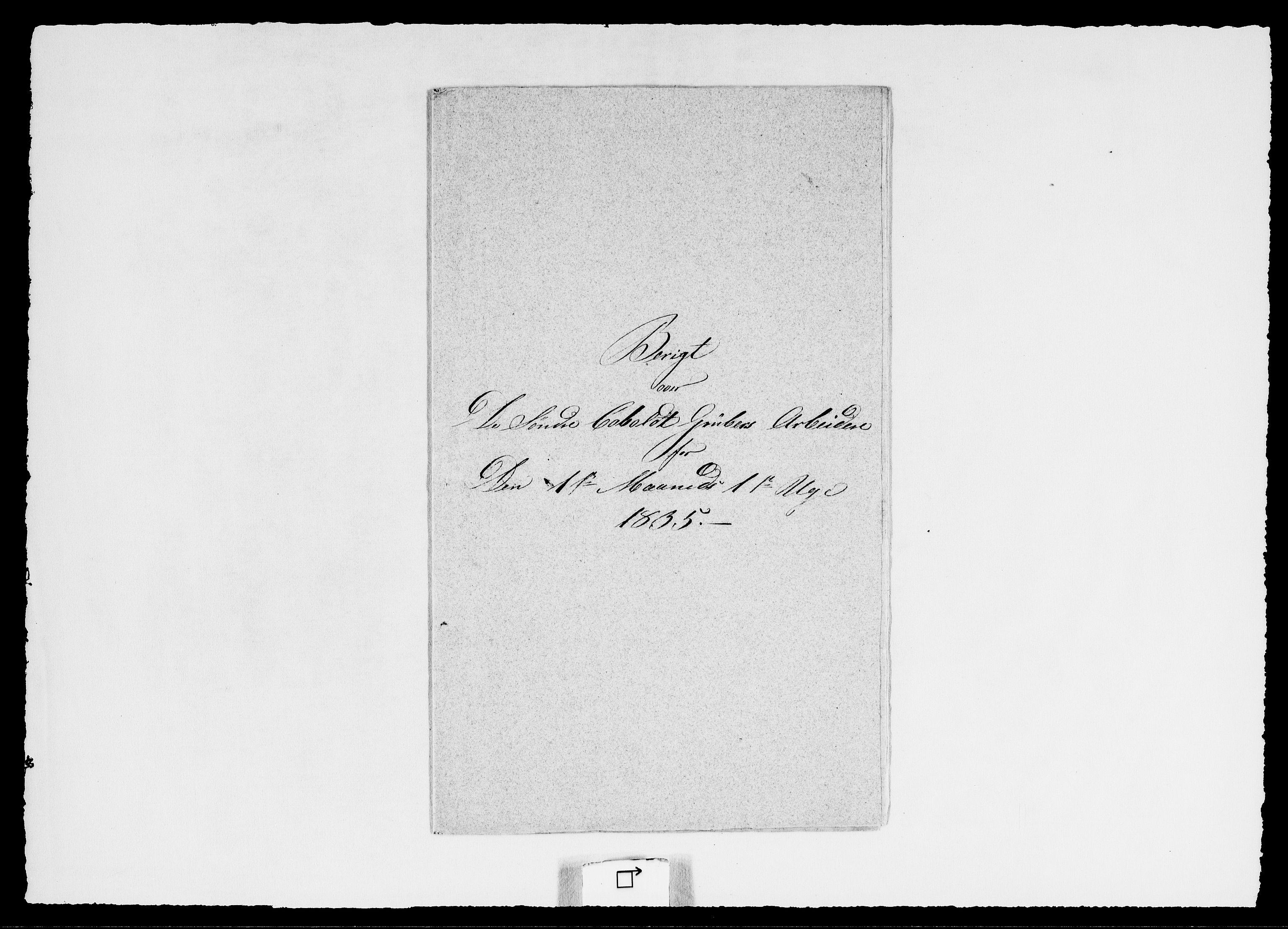RA, Modums Blaafarveværk, G/Ge/L0347, 1835, s. 2