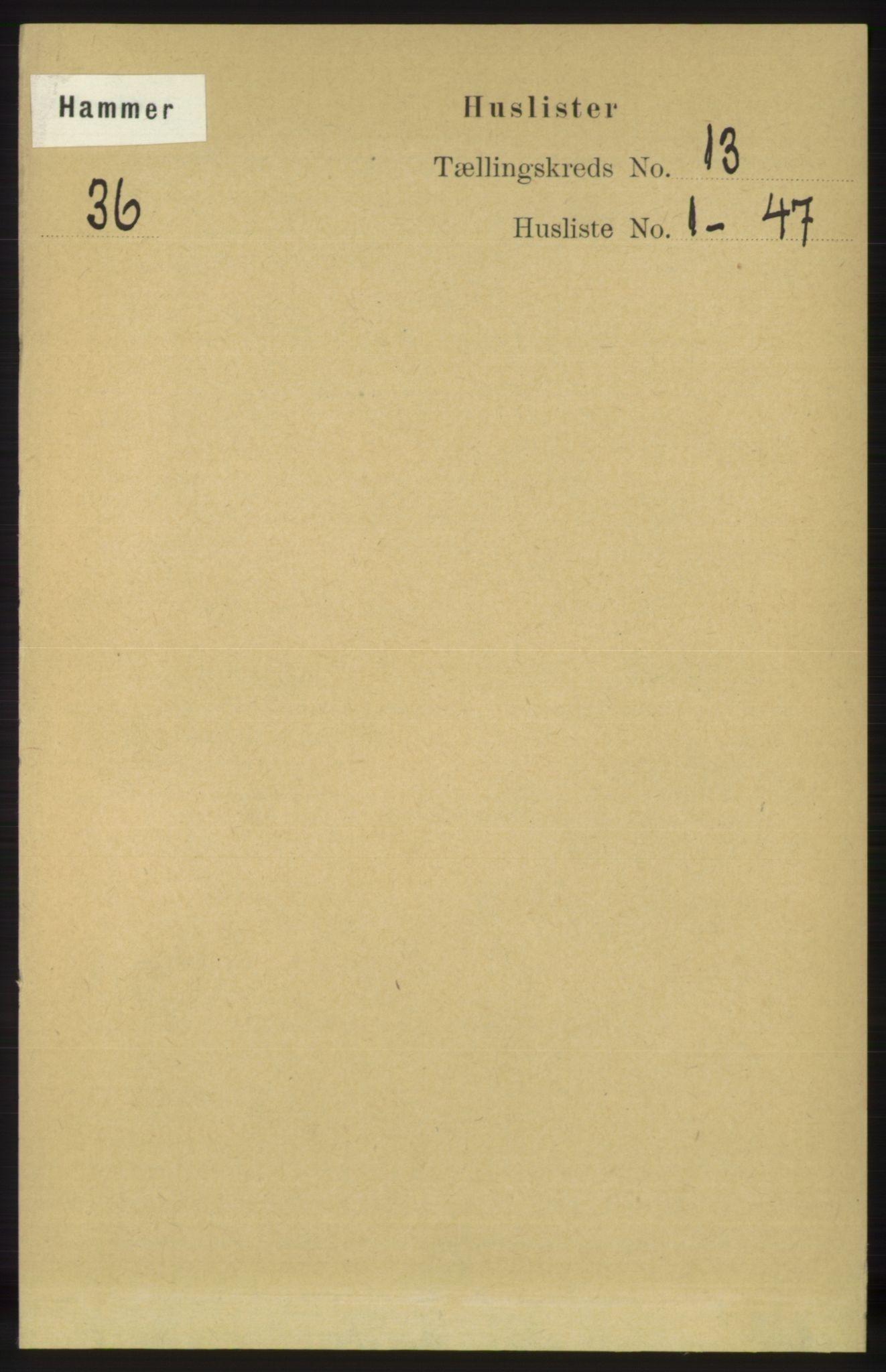 RA, Folketelling 1891 for 1254 Hamre herred, 1891, s. 3944