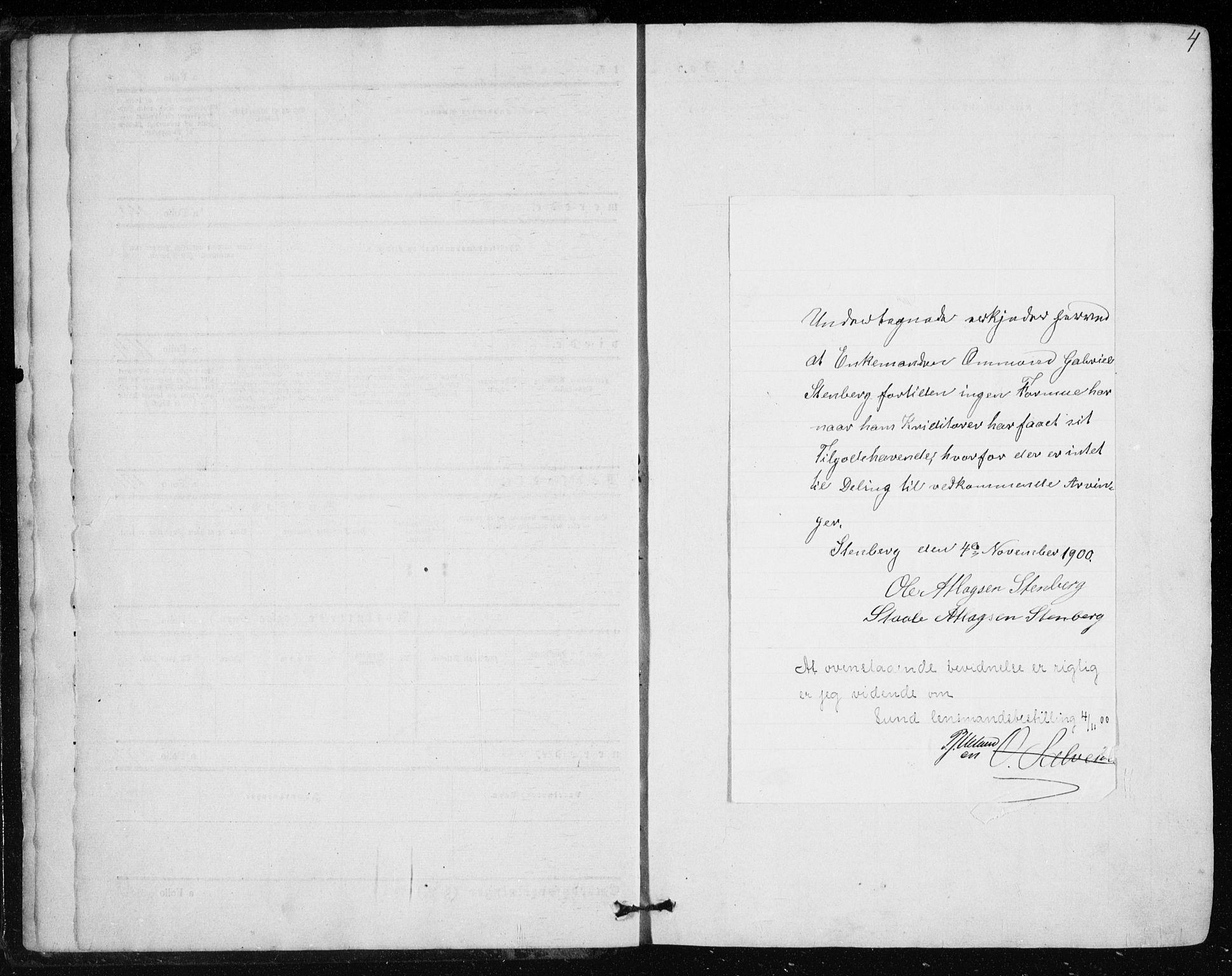 SAST, Lund sokneprestkontor, Ministerialbok nr. A 8, 1853-1877, s. 4