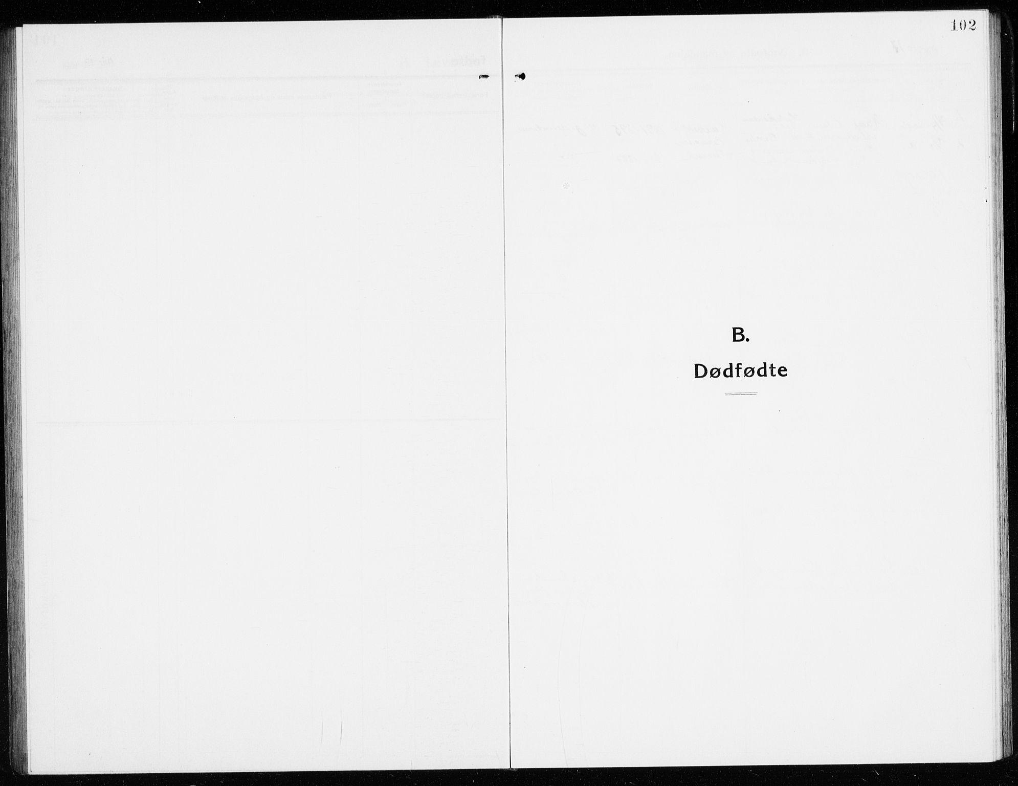 SAKO, Gol kirkebøker, G/Ga/L0004: Klokkerbok nr. I 4, 1915-1943, s. 102