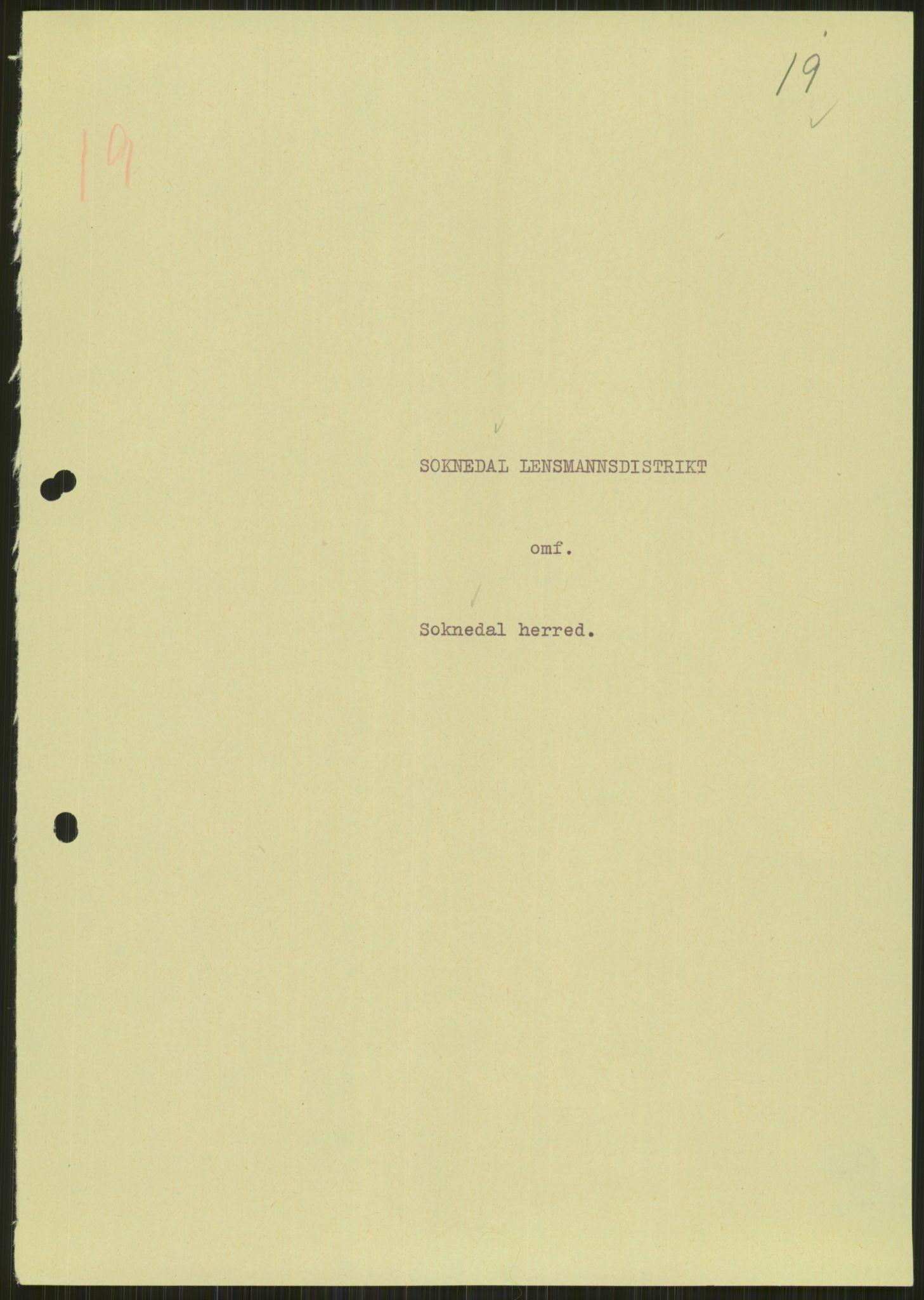 RA, Forsvaret, Forsvarets krigshistoriske avdeling, Y/Ya/L0016: II-C-11-31 - Fylkesmenn.  Rapporter om krigsbegivenhetene 1940., 1940, s. 153