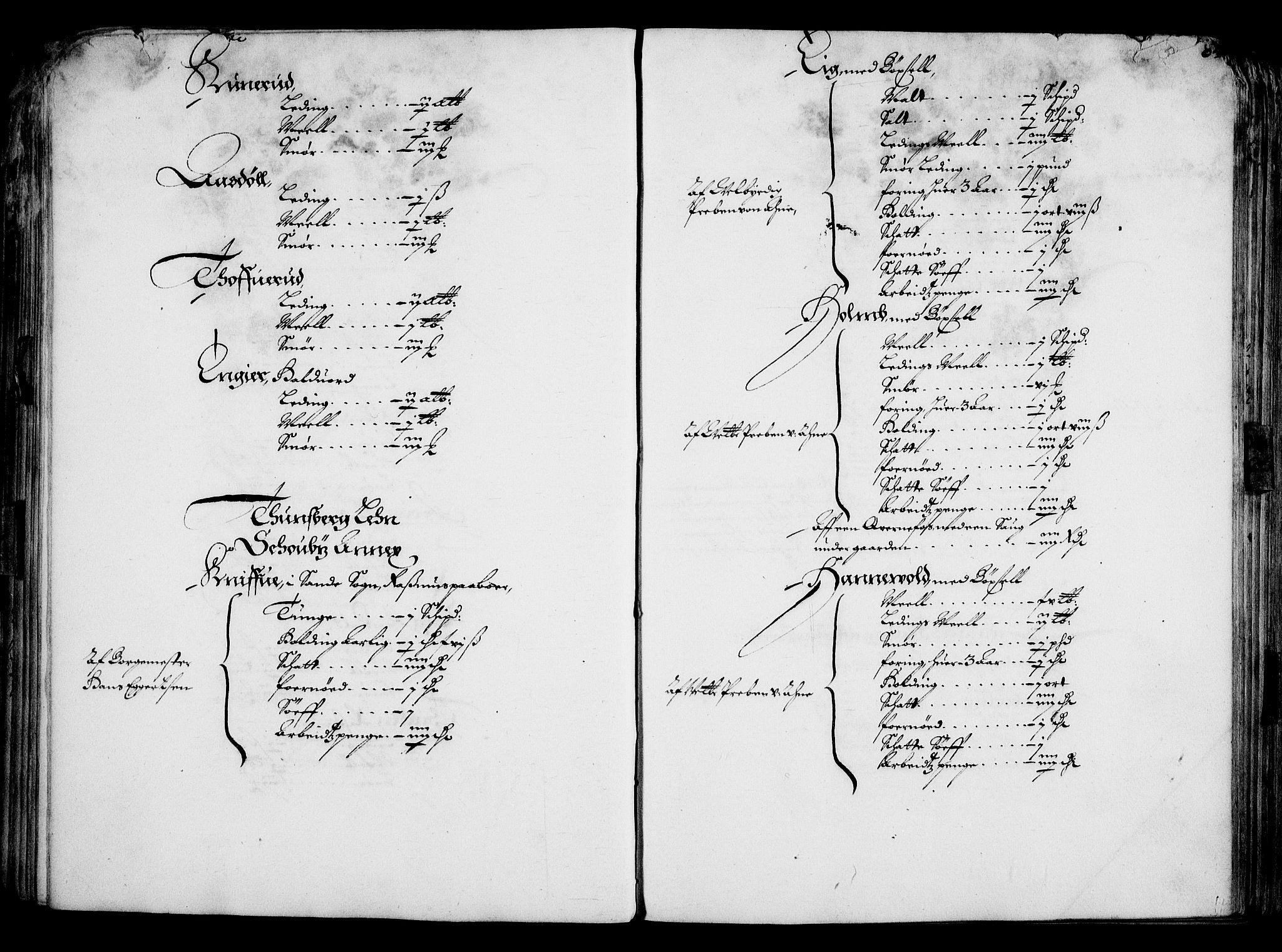 RA, Rentekammeret inntil 1814, Realistisk ordnet avdeling, On/L0001: Statens gods, 1651, s. 79
