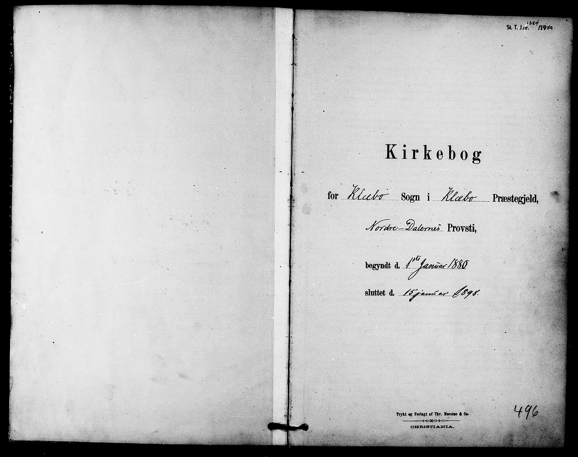 SAT, Ministerialprotokoller, klokkerbøker og fødselsregistre - Sør-Trøndelag, 618/L0444: Ministerialbok nr. 618A07, 1880-1898