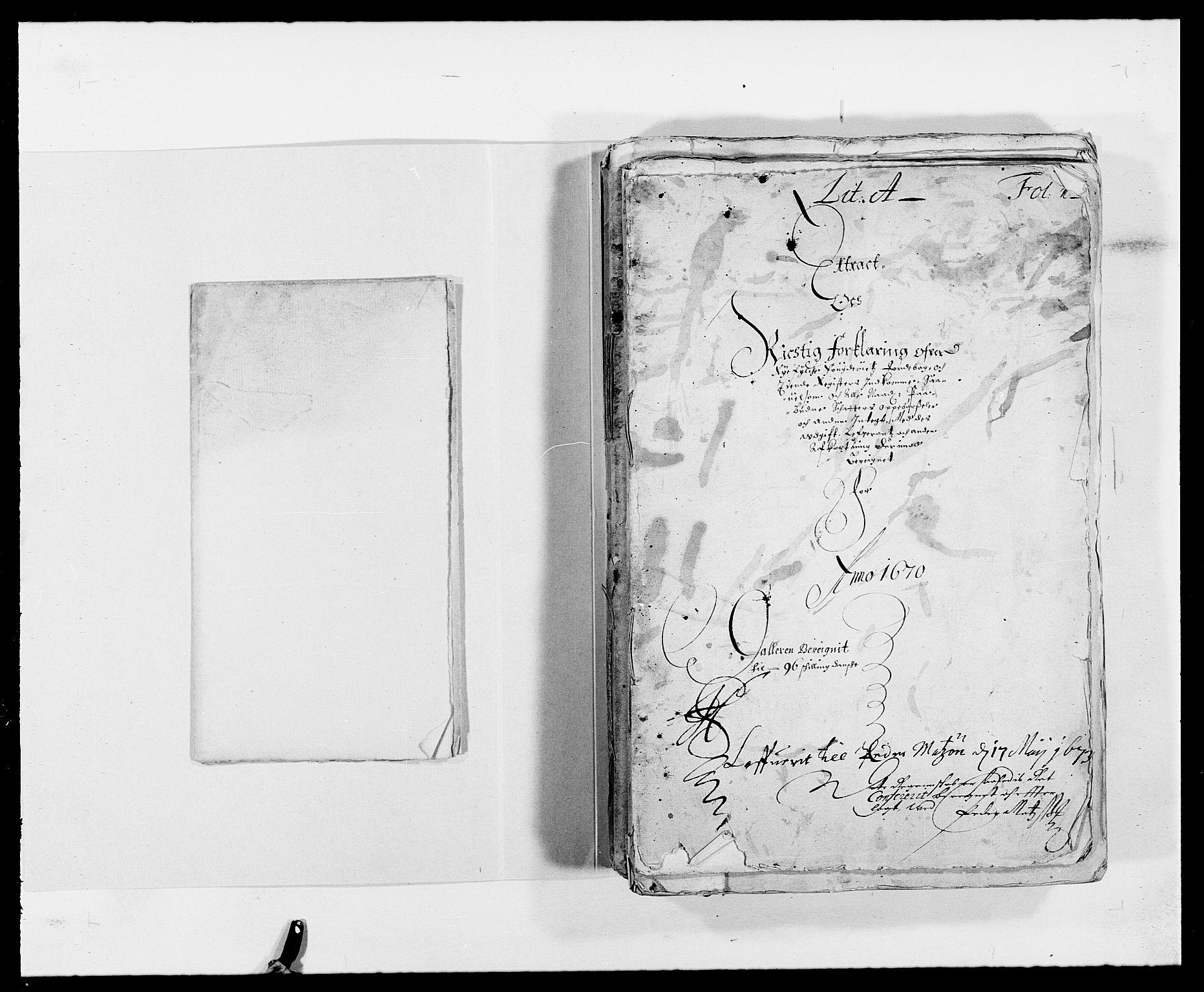 RA, Rentekammeret inntil 1814, Reviderte regnskaper, Fogderegnskap, R47/L2843: Fogderegnskap Ryfylke, 1670-1671, s. 3