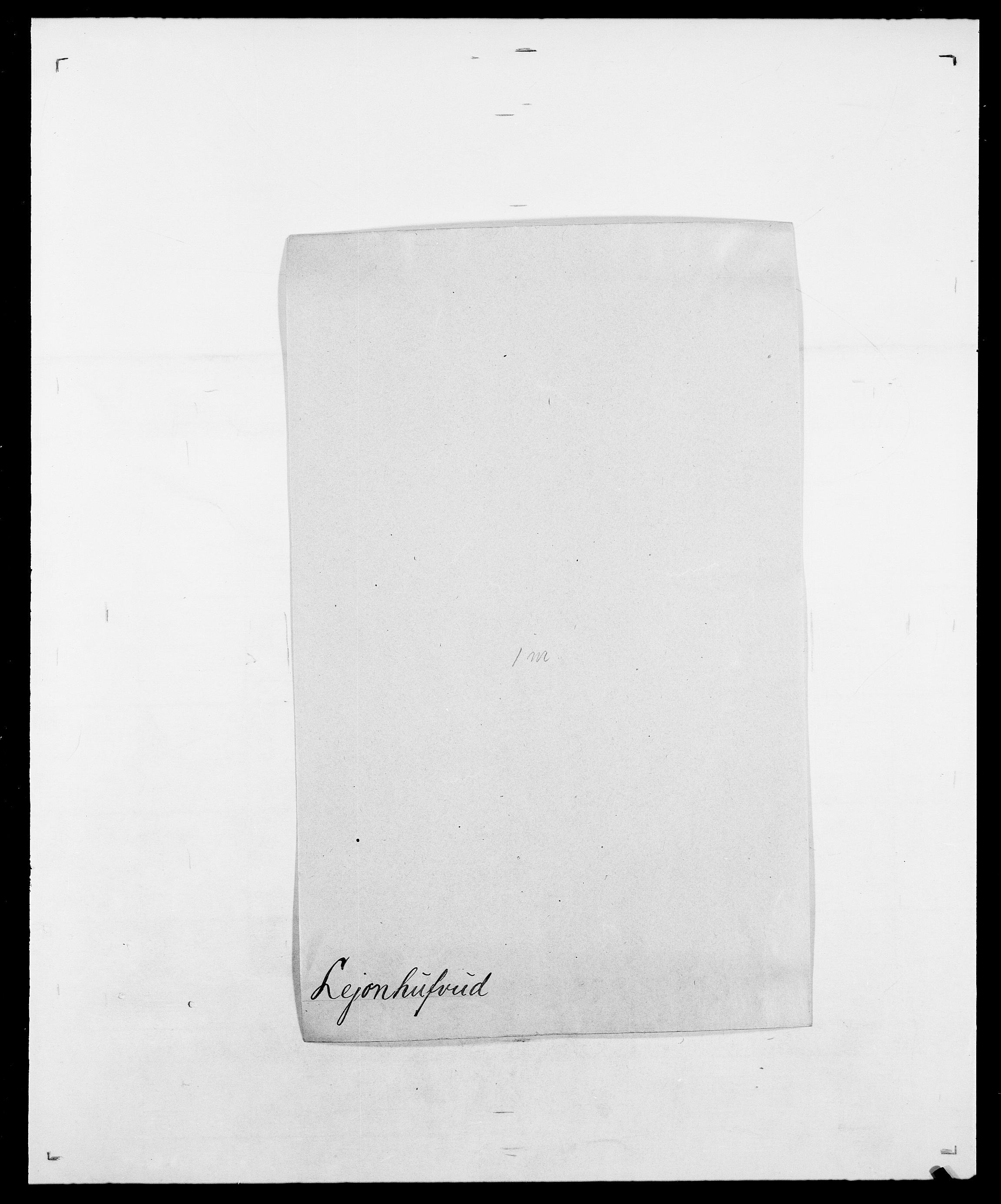 SAO, Delgobe, Charles Antoine - samling, D/Da/L0023: Lau - Lirvyn, s. 151