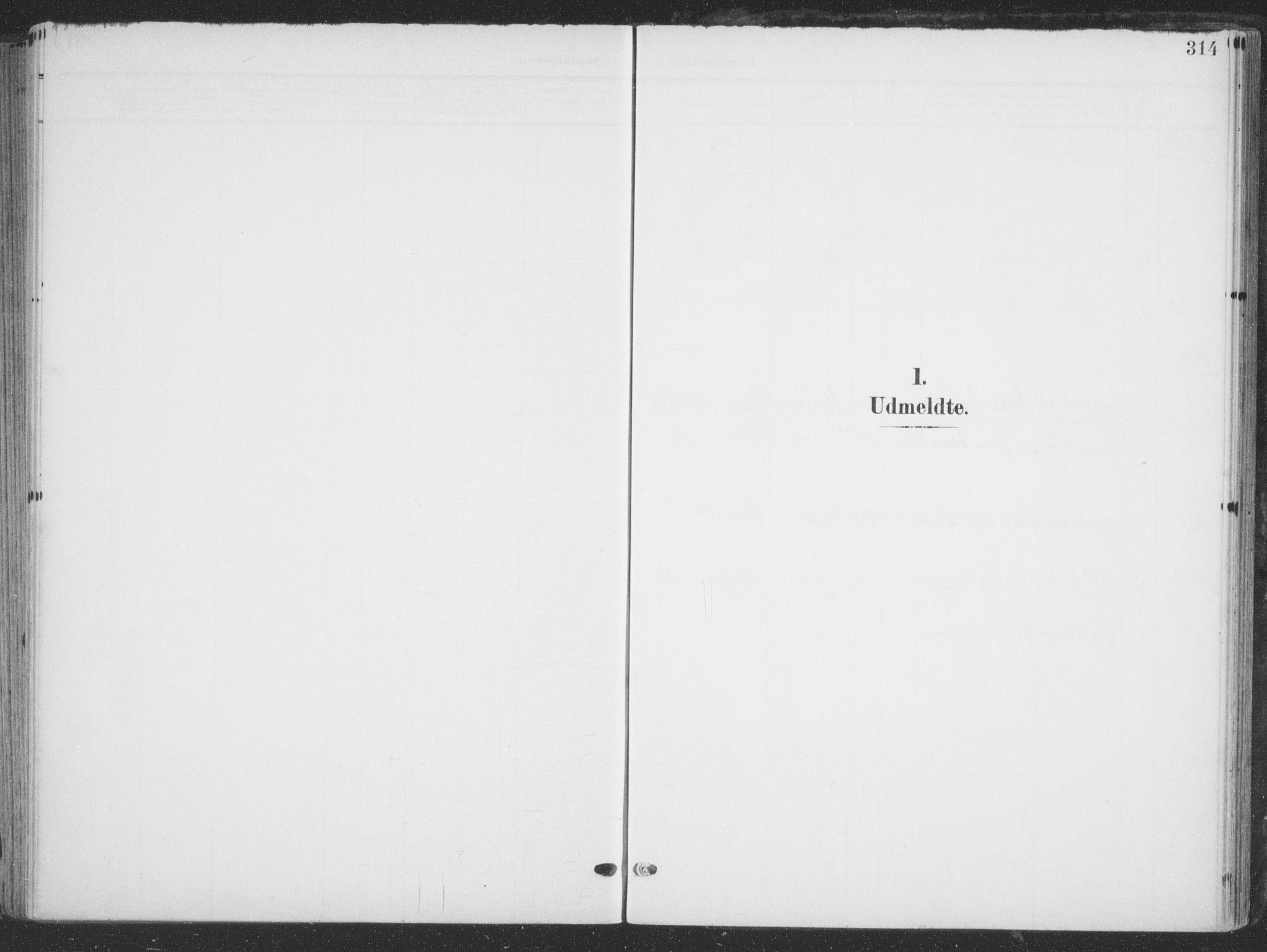SATØ, Tana sokneprestkontor, H/Ha/L0007kirke: Ministerialbok nr. 7, 1904-1918, s. 314