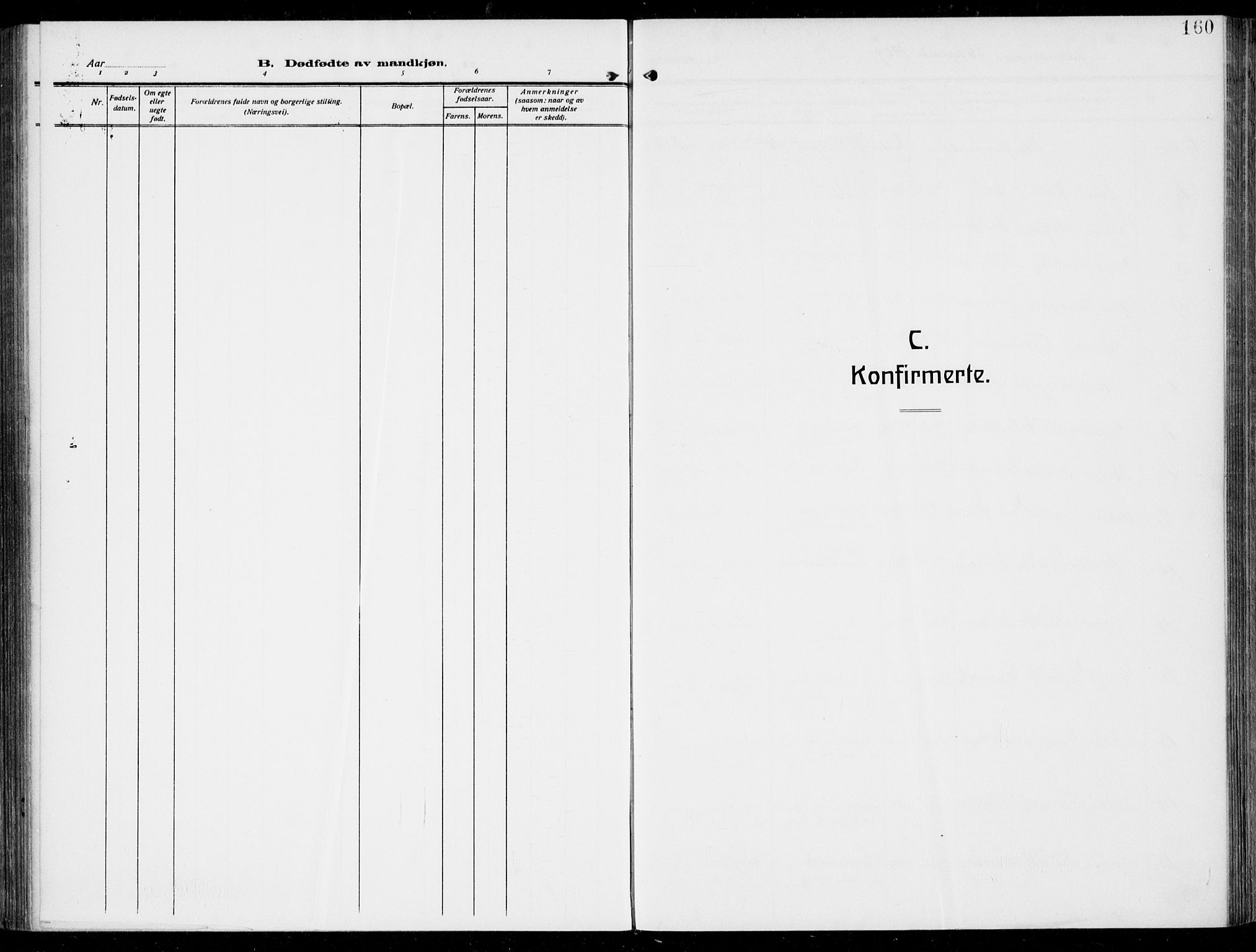 SAKO, Hurum kirkebøker, F/Fa/L0016: Ministerialbok nr. 16, 1899-1918, s. 160