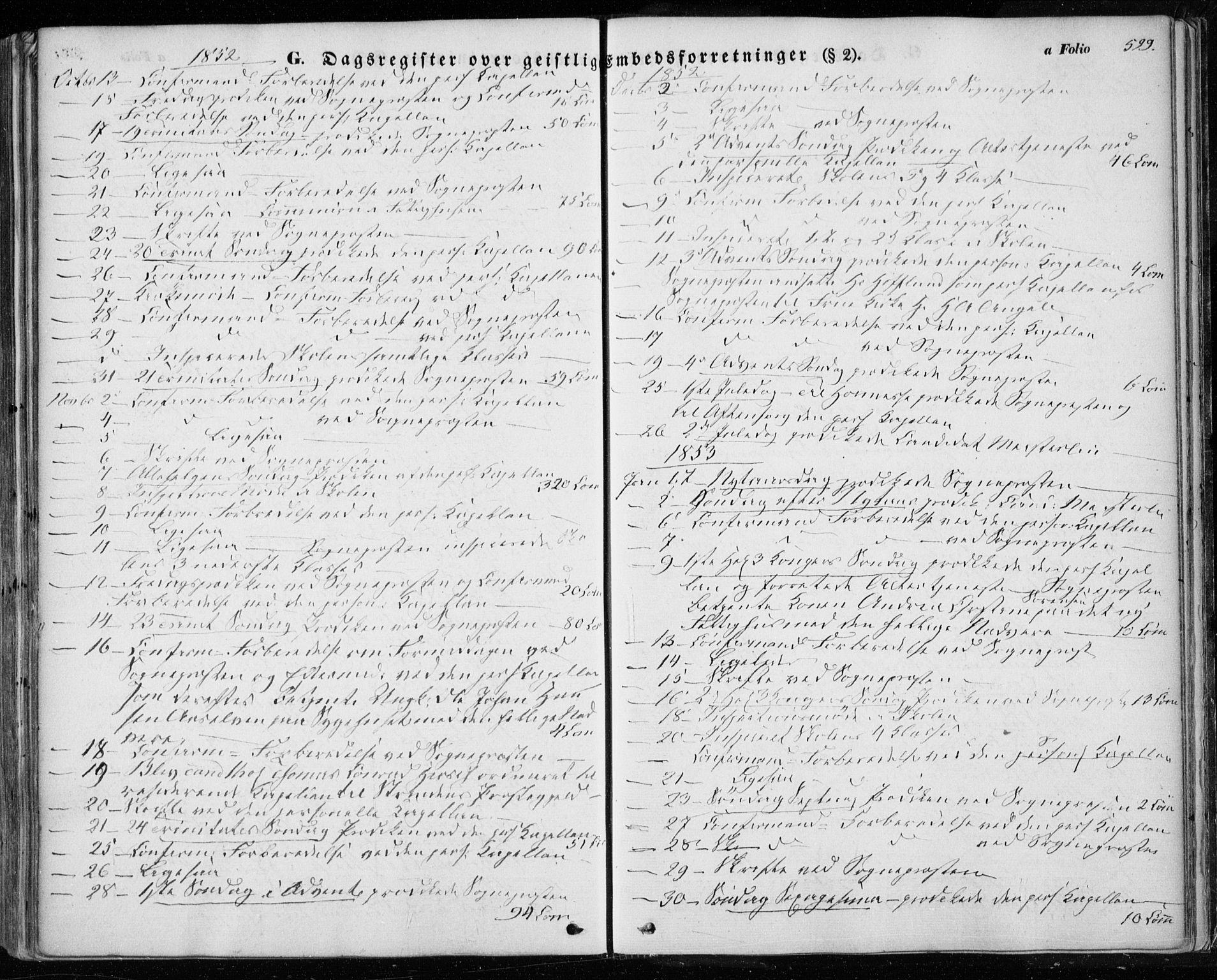 SAT, Ministerialprotokoller, klokkerbøker og fødselsregistre - Sør-Trøndelag, 601/L0051: Ministerialbok nr. 601A19, 1848-1857, s. 599