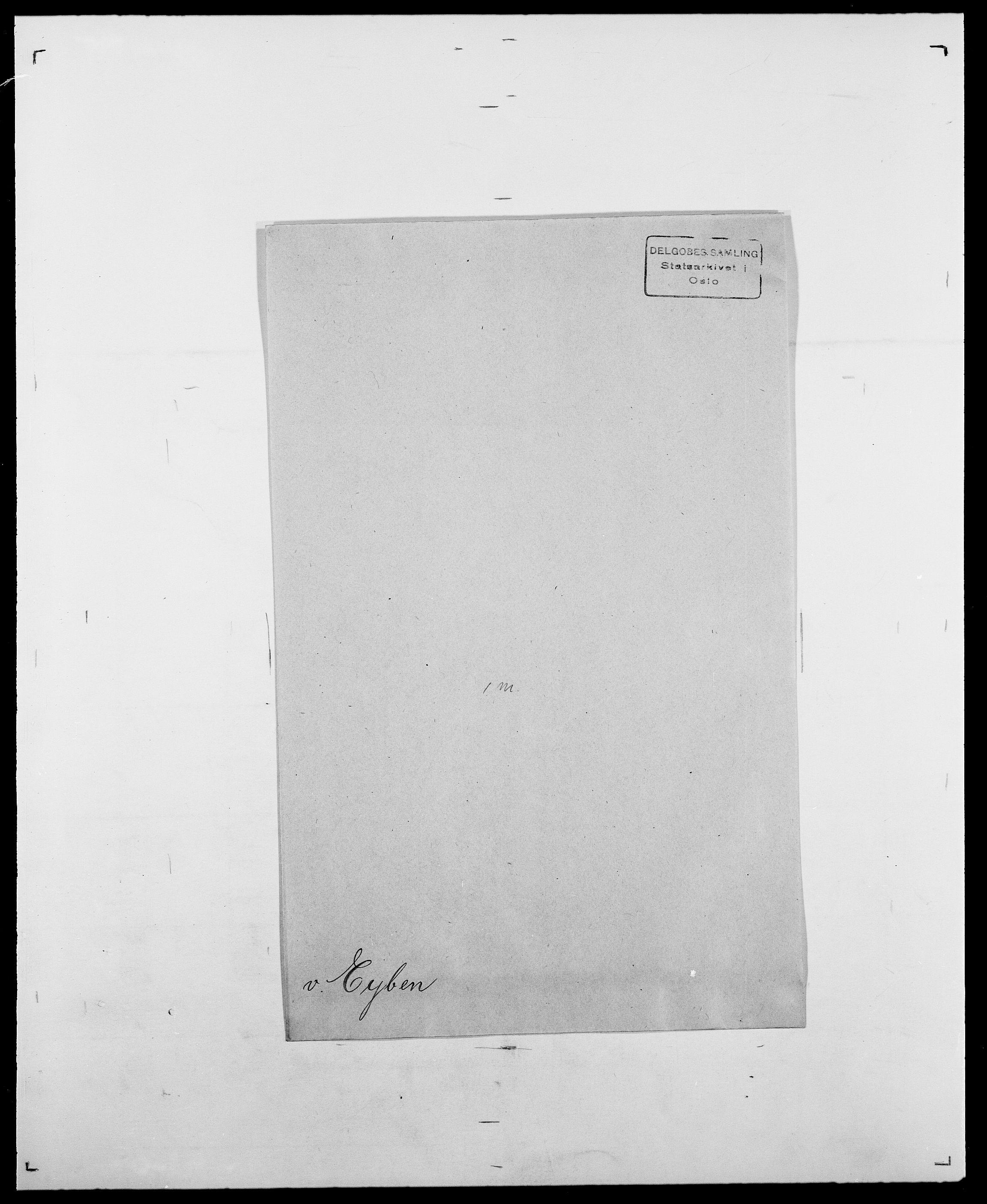 SAO, Delgobe, Charles Antoine - samling, D/Da/L0010: Dürendahl - Fagelund, s. 699