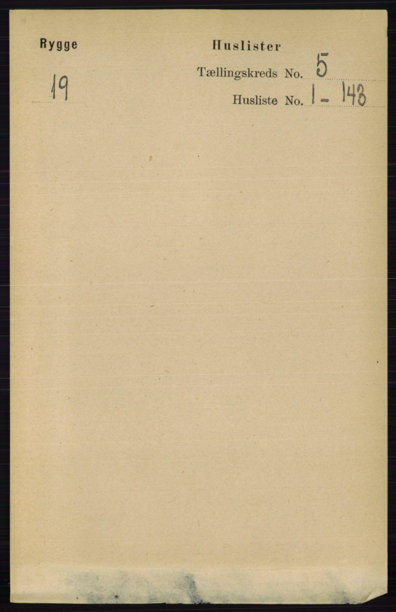 RA, Folketelling 1891 for 0136 Rygge herred, 1891, s. 2687
