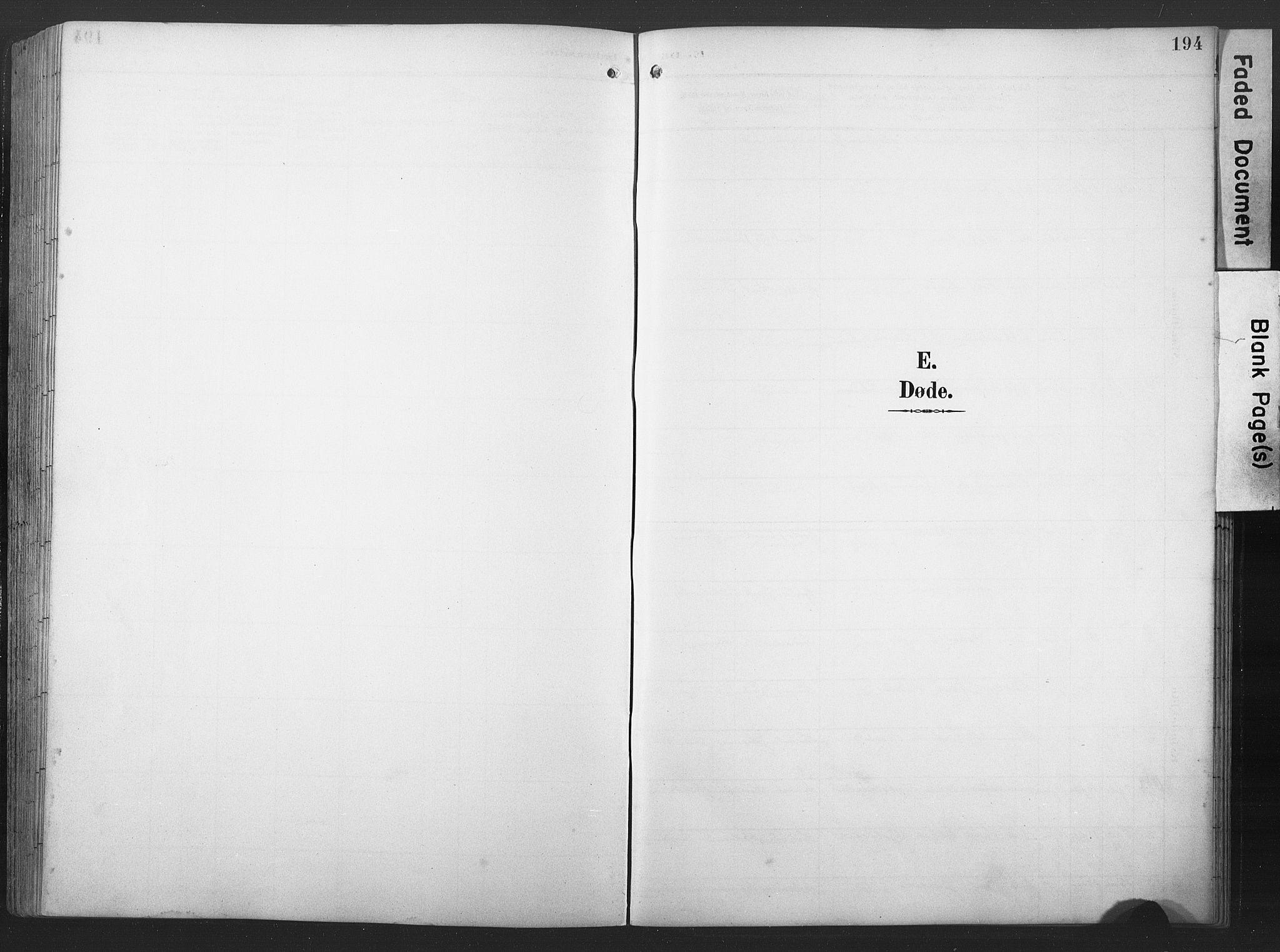 SAT, Ministerialprotokoller, klokkerbøker og fødselsregistre - Nord-Trøndelag, 789/L0706: Klokkerbok nr. 789C01, 1888-1931, s. 194
