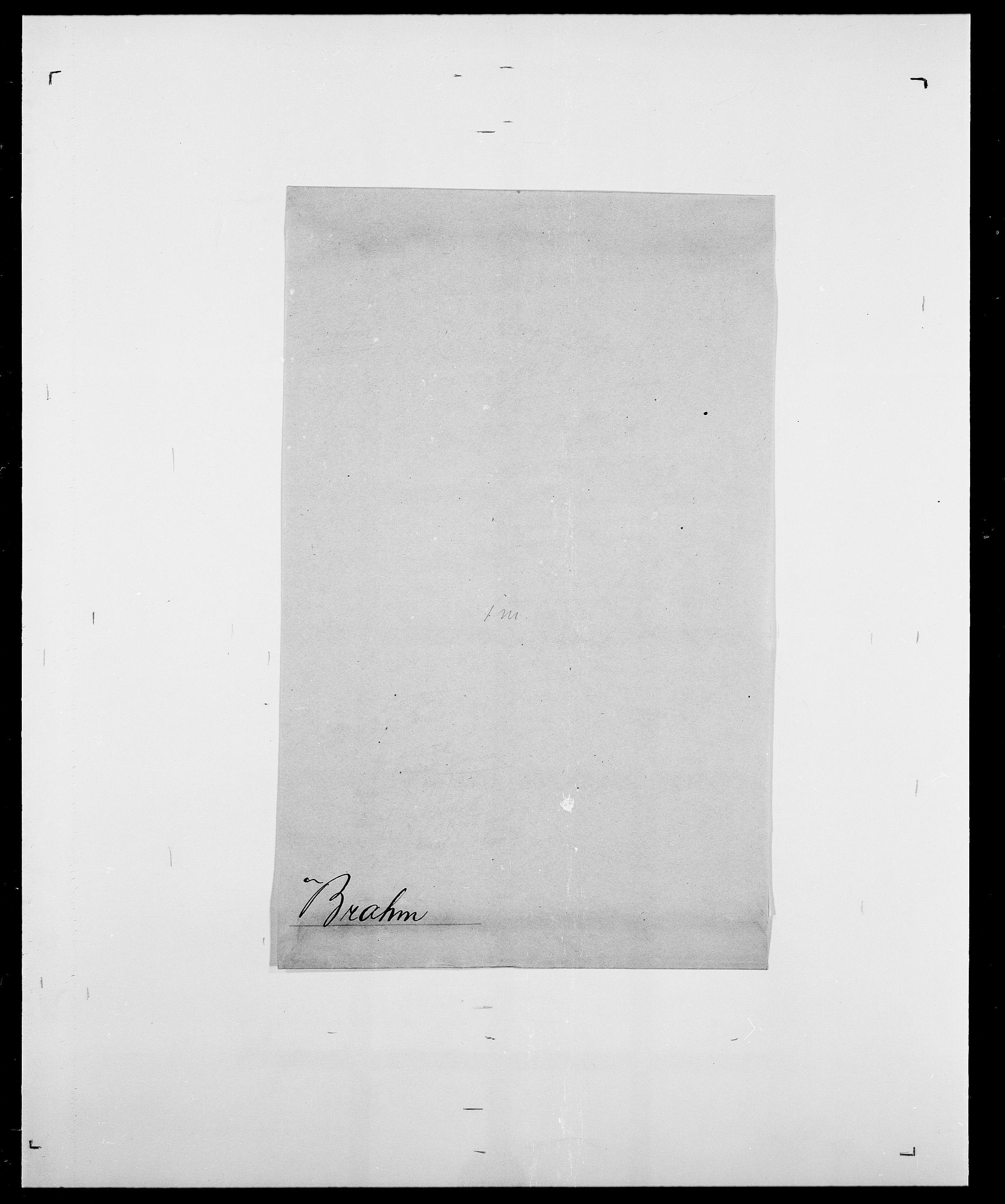 SAO, Delgobe, Charles Antoine - samling, D/Da/L0005: Boalth - Brahm, s. 466