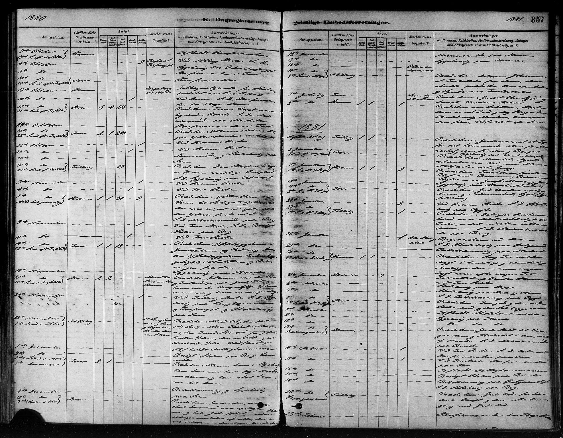 SAT, Ministerialprotokoller, klokkerbøker og fødselsregistre - Nord-Trøndelag, 746/L0448: Ministerialbok nr. 746A07 /1, 1878-1900, s. 357