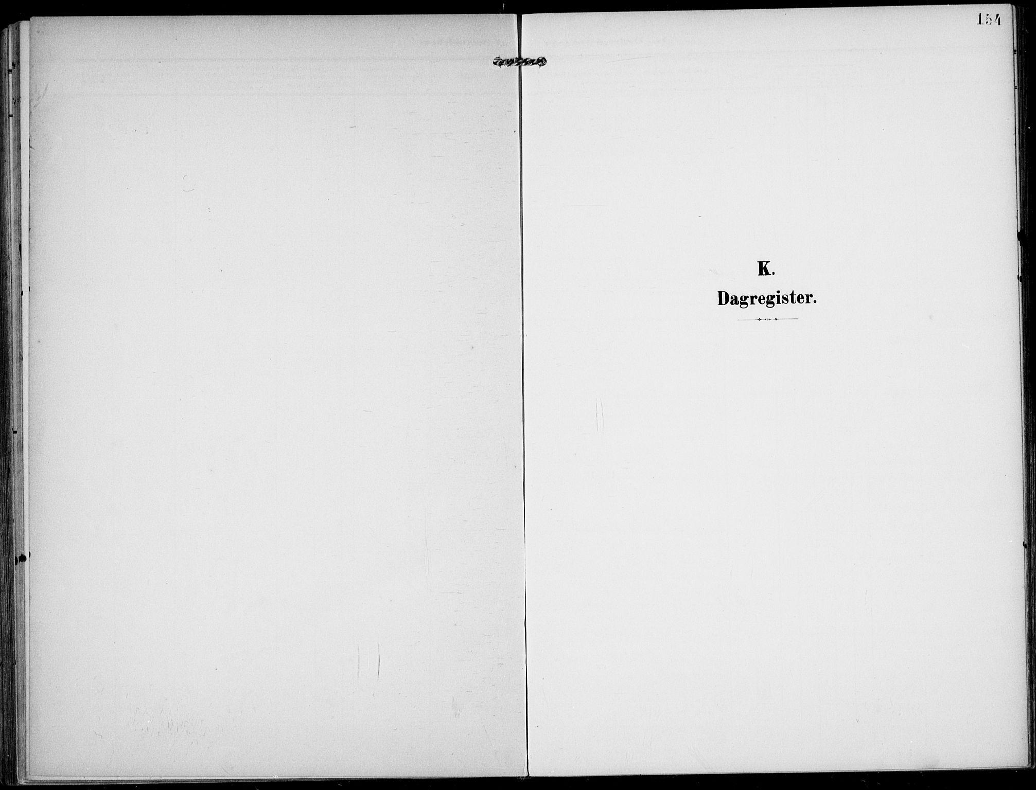 SAKO, Lunde kirkebøker, F/Fa/L0004: Ministerialbok nr. I 4, 1902-1913, s. 154
