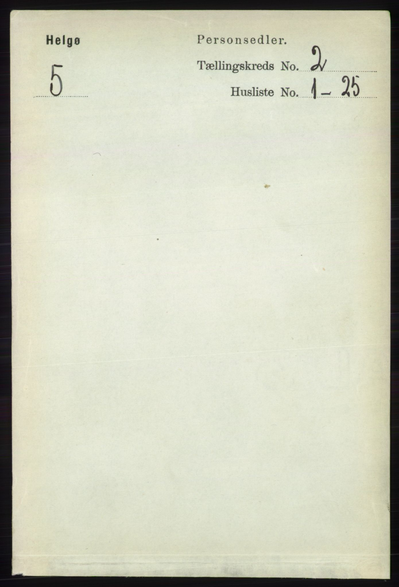 RA, Folketelling 1891 for 1935 Helgøy herred, 1891, s. 332