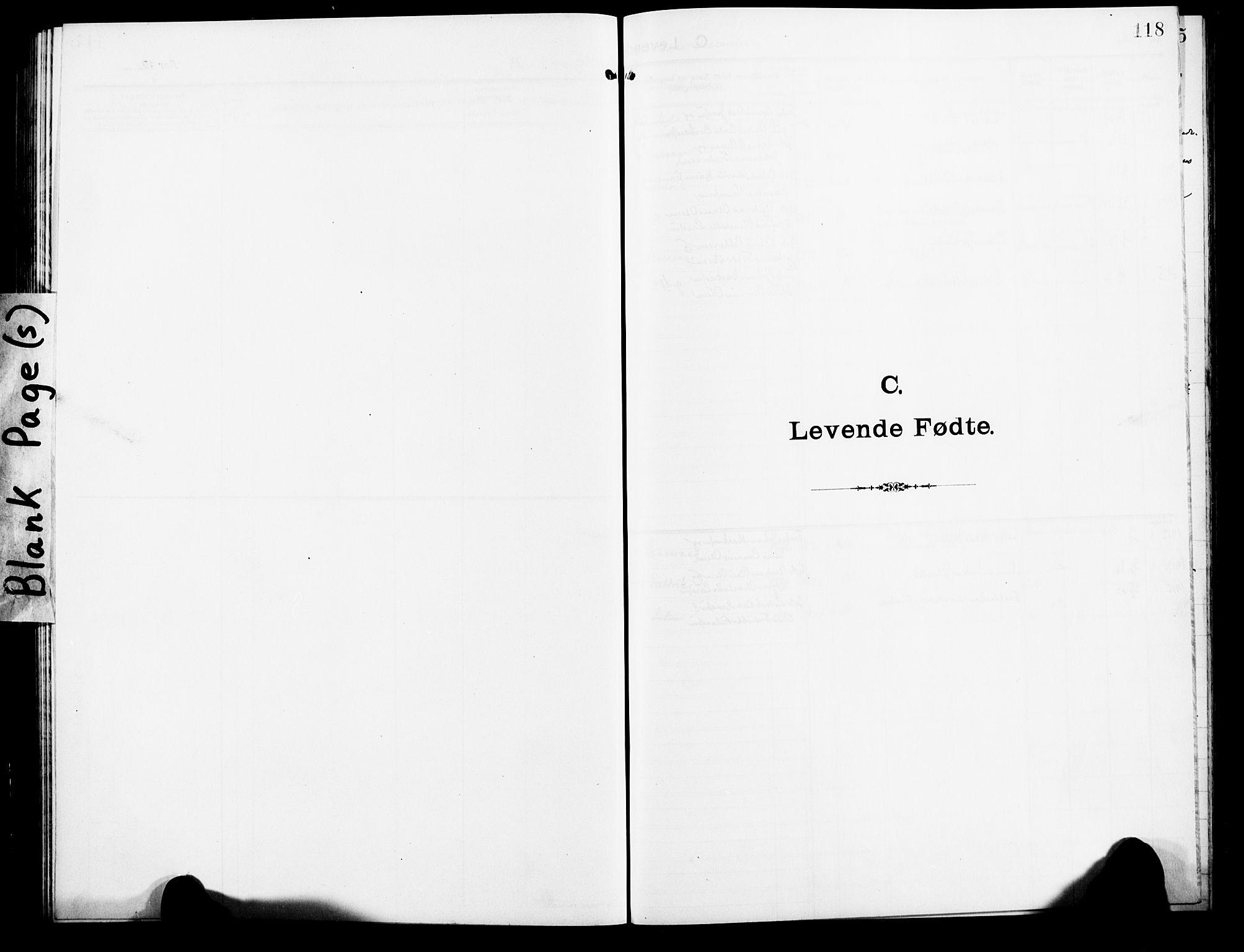 SATØ, Lenvik sokneprestembete, H/Ha: Klokkerbok nr. 9, 1912-1926, s. 118