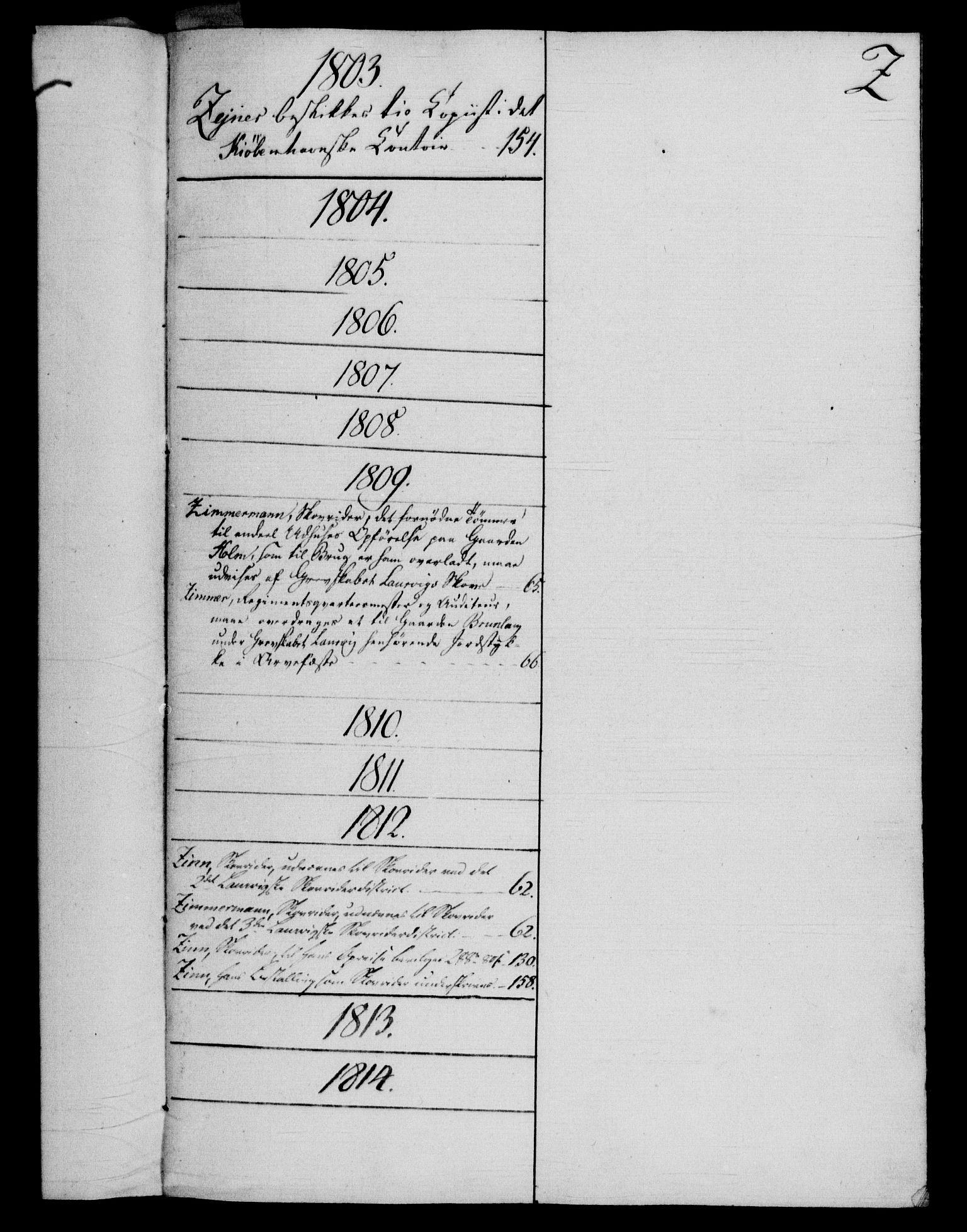 RA, Rentekammeret, Kammerkanselliet, G/Gf/Gfb/L0016: Register til norske relasjons- og resolusjonsprotokoller (merket RK 52.111), 1801-1814, s. 186